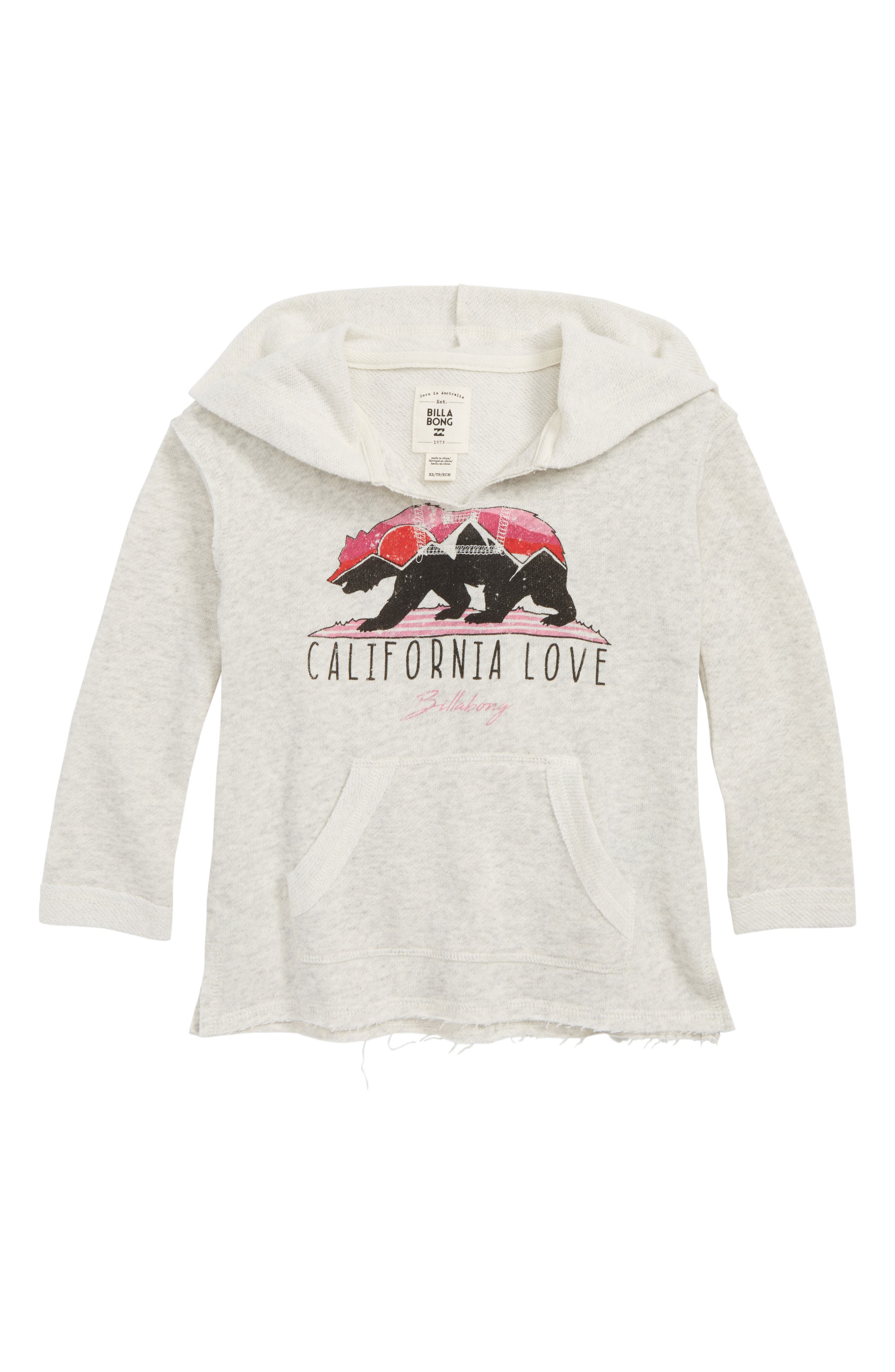 Days Off Pullover Hoodie,                             Main thumbnail 1, color,                             ASH HEATHER
