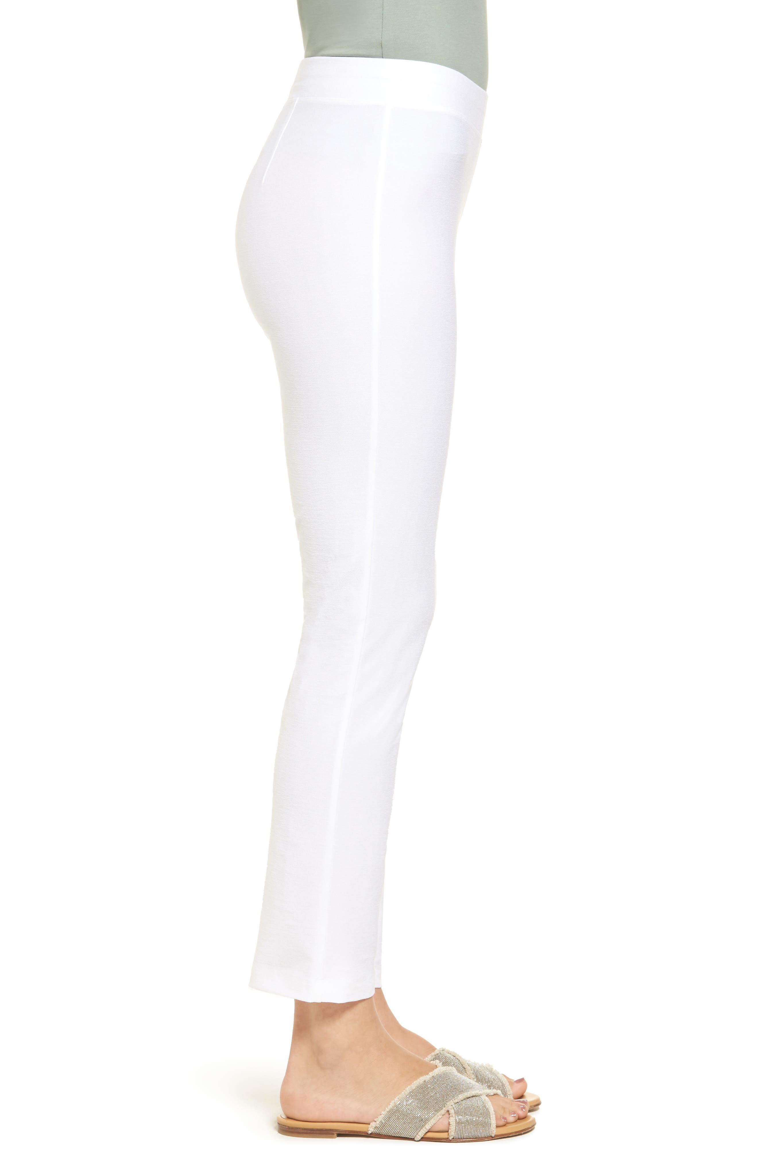 Stretch Crepe Slim Ankle Pants,                             Alternate thumbnail 49, color,