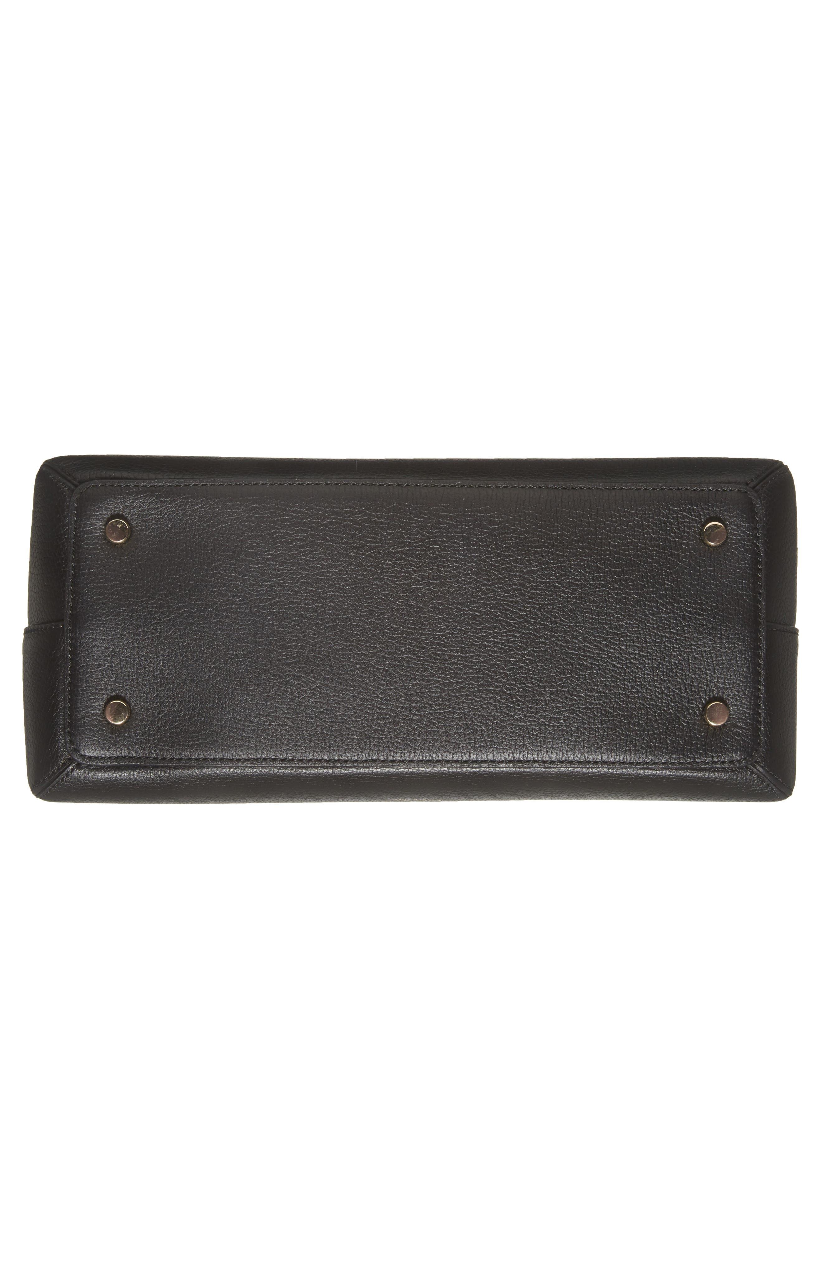 olive drive lottie leather satchel,                             Alternate thumbnail 11, color,