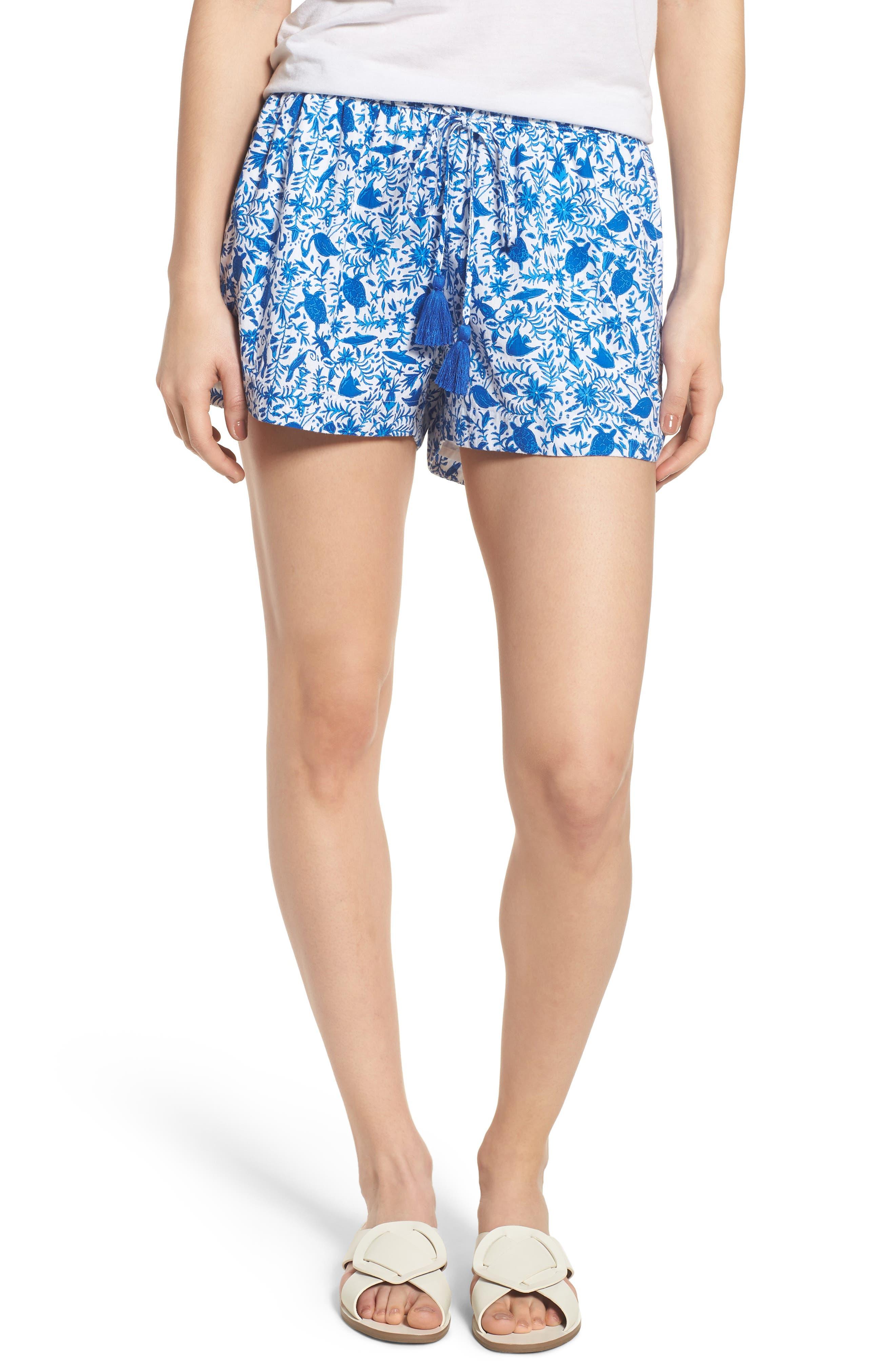 Bahamas Otomi Pull On Shorts,                         Main,                         color, 413