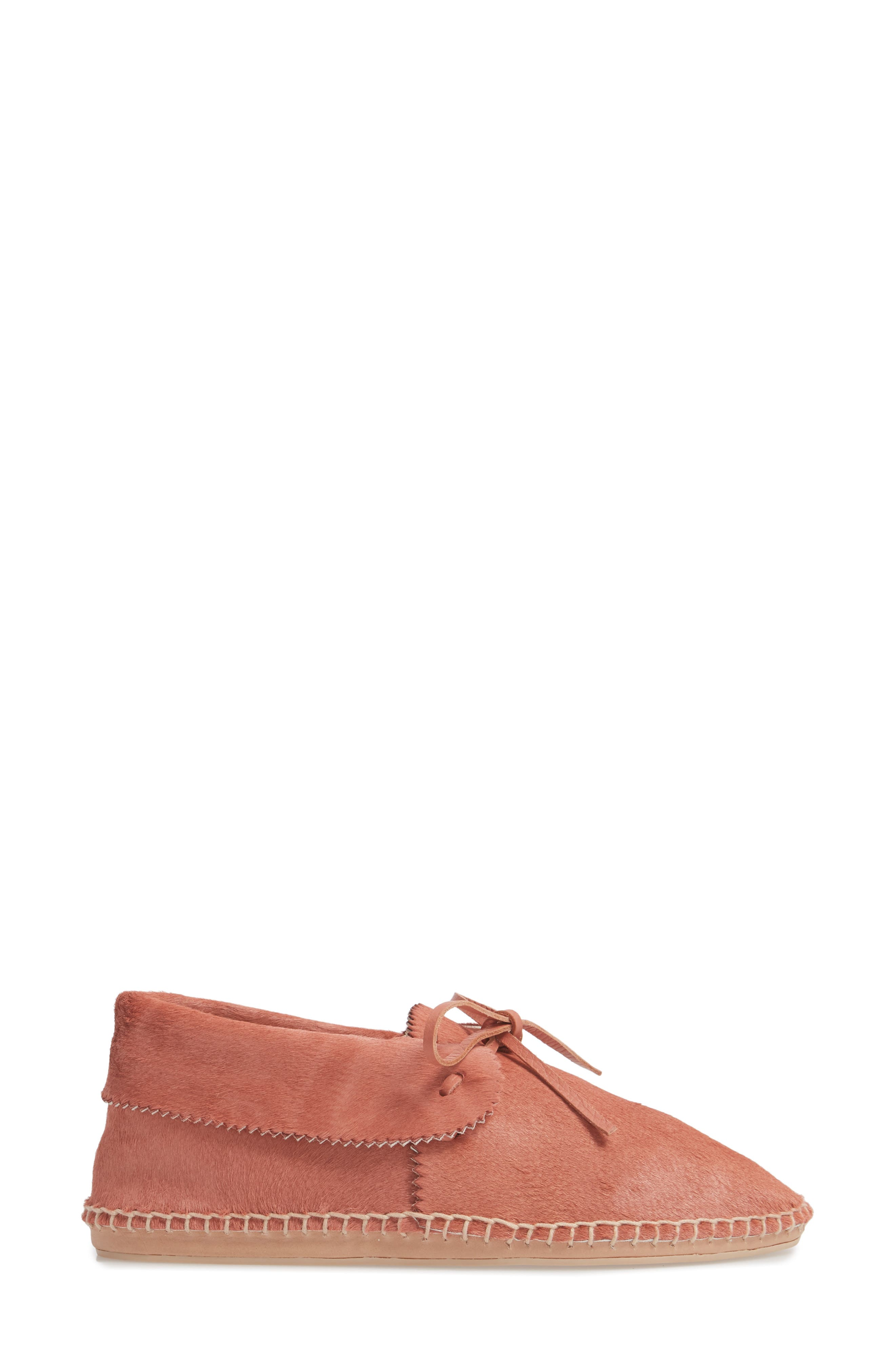 Canyon Moccasin Flat,                             Alternate thumbnail 3, color,                             DUSTY ROSE