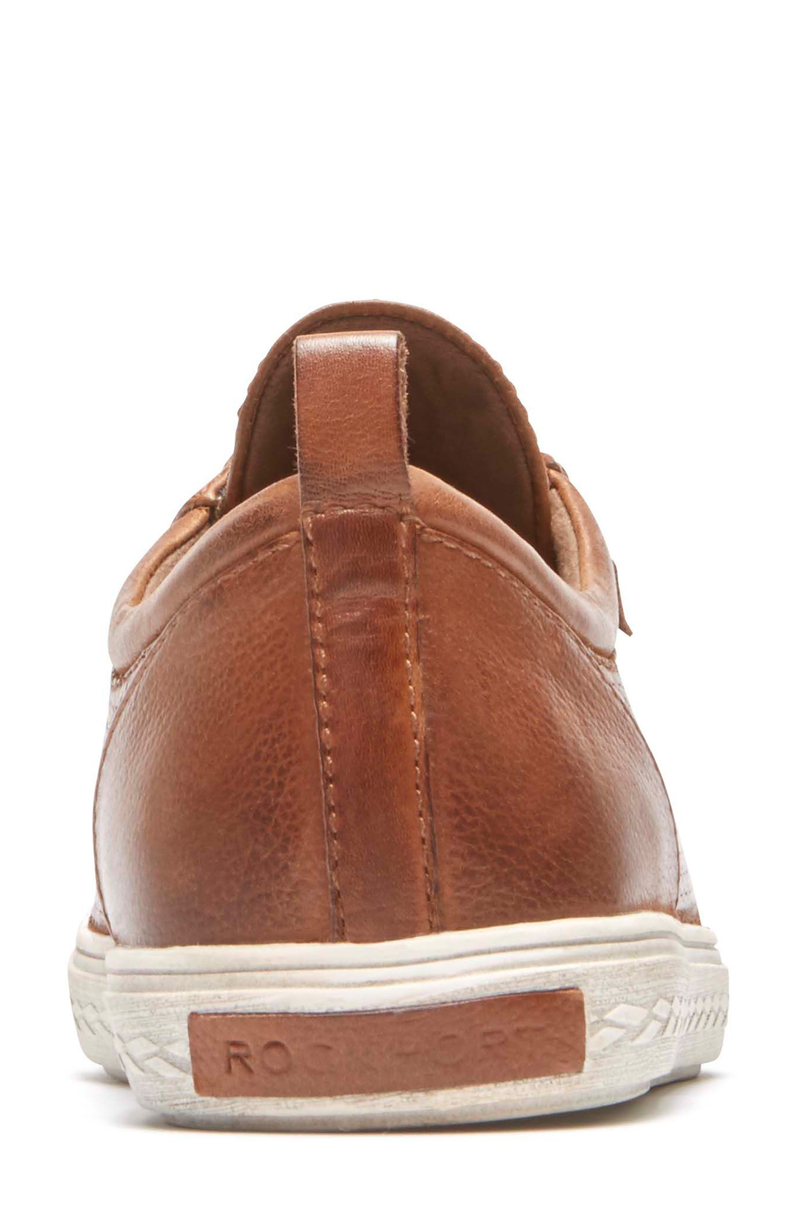 Willa Sneaker,                             Alternate thumbnail 7, color,                             ALMOND LEATHER