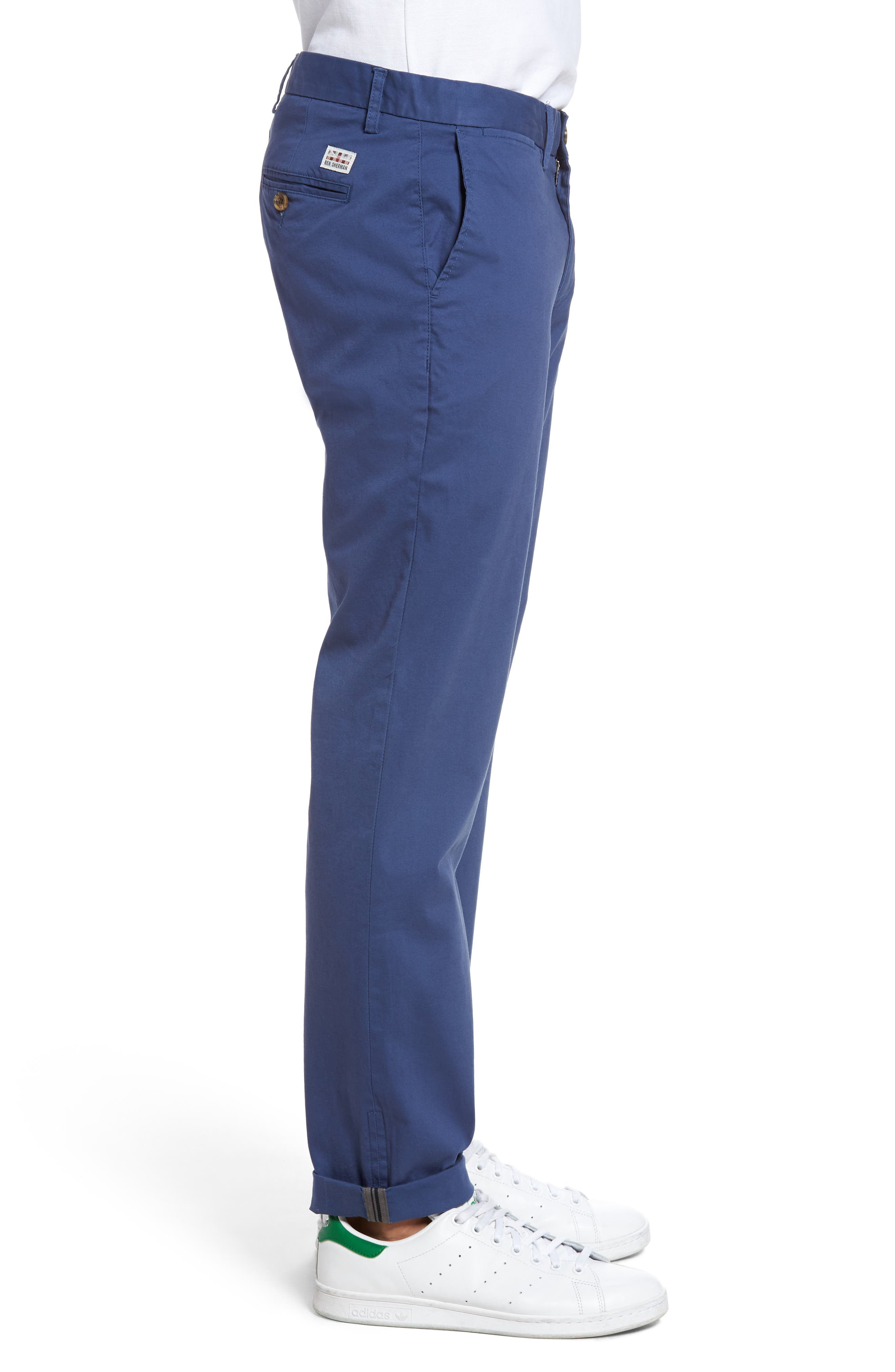 Slim Fit Stretch Chinos,                             Alternate thumbnail 33, color,