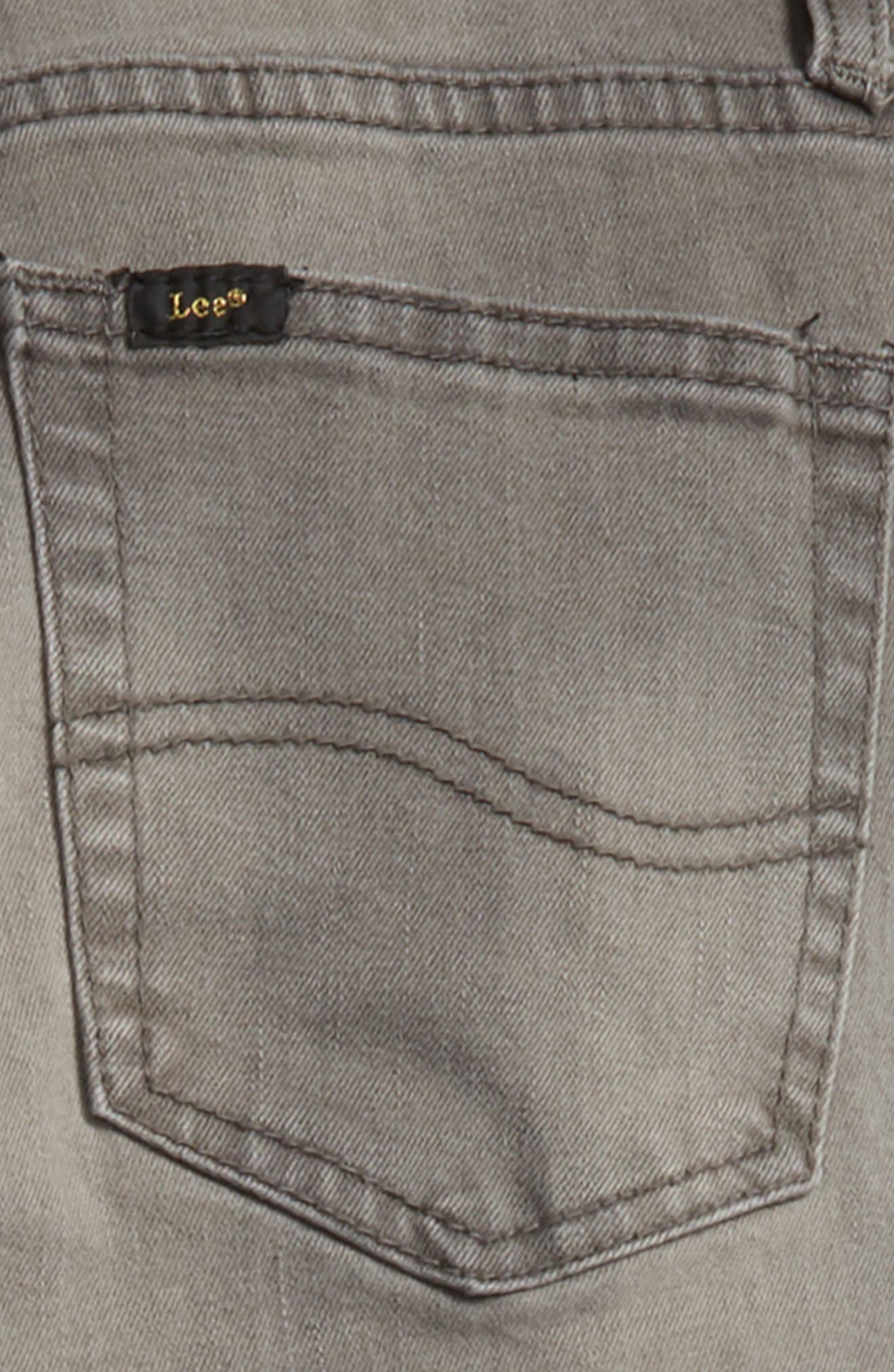 Stretch Straight Leg Jeans,                             Alternate thumbnail 3, color,                             060