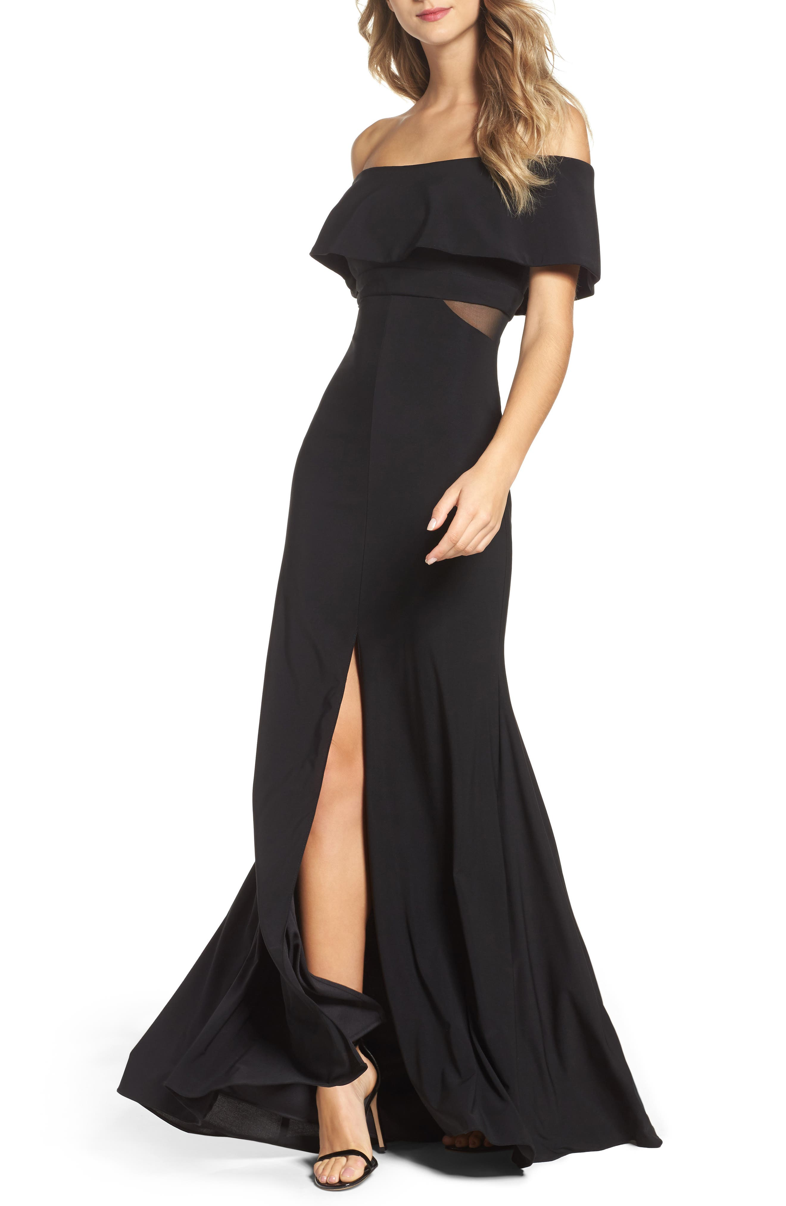 Jersey Popover Gown,                             Main thumbnail 2, color,