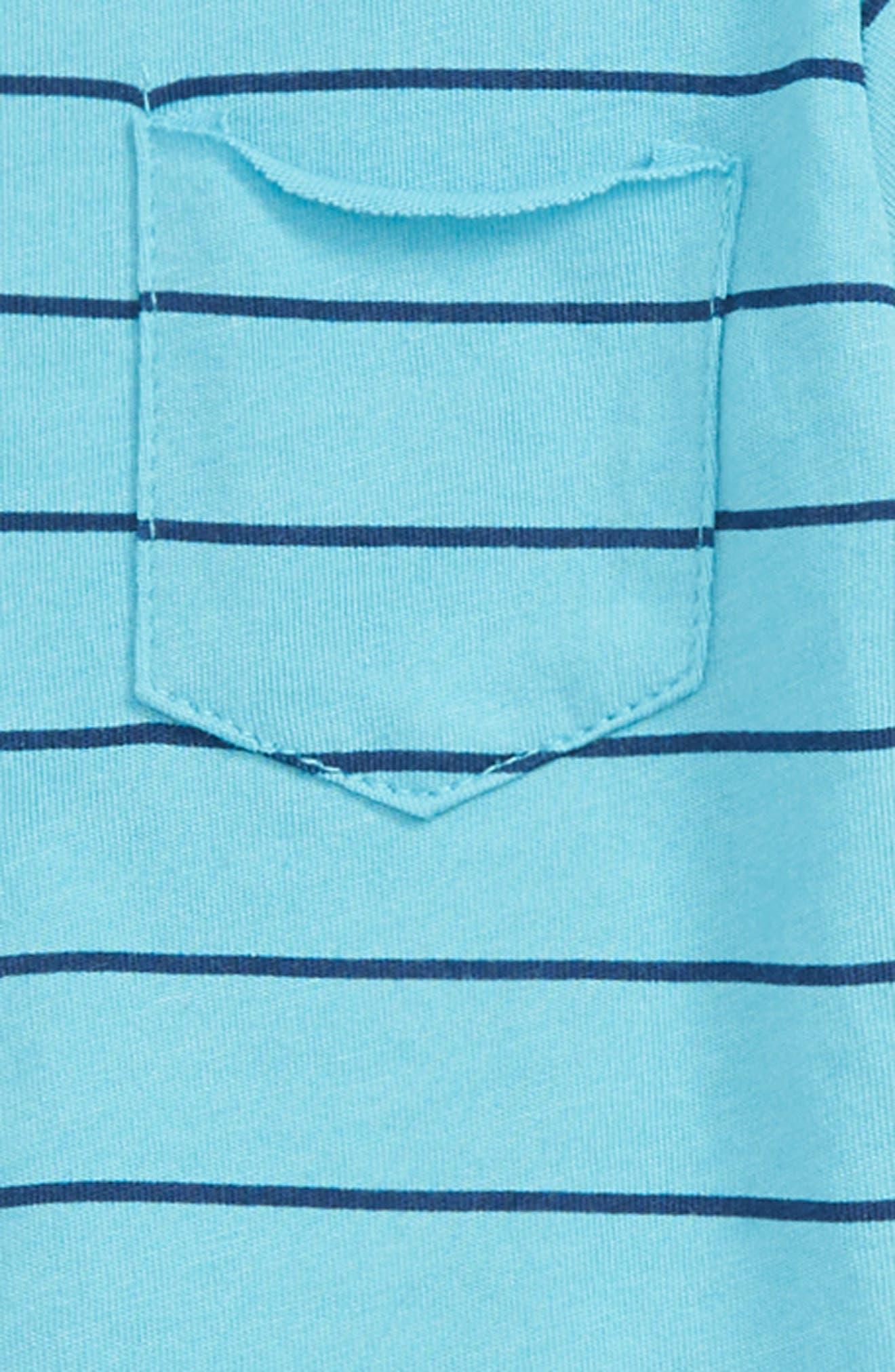 Henley T-Shirt & Shorts Set,                             Alternate thumbnail 2, color,                             400