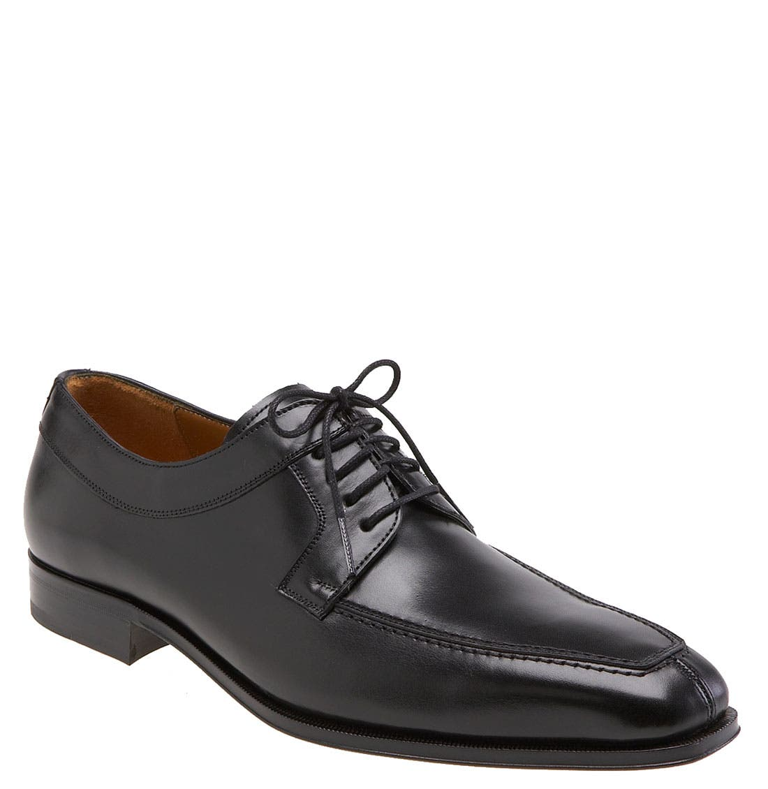 'Hundley II' Split Toe Derby,                             Main thumbnail 1, color,                             BLACK