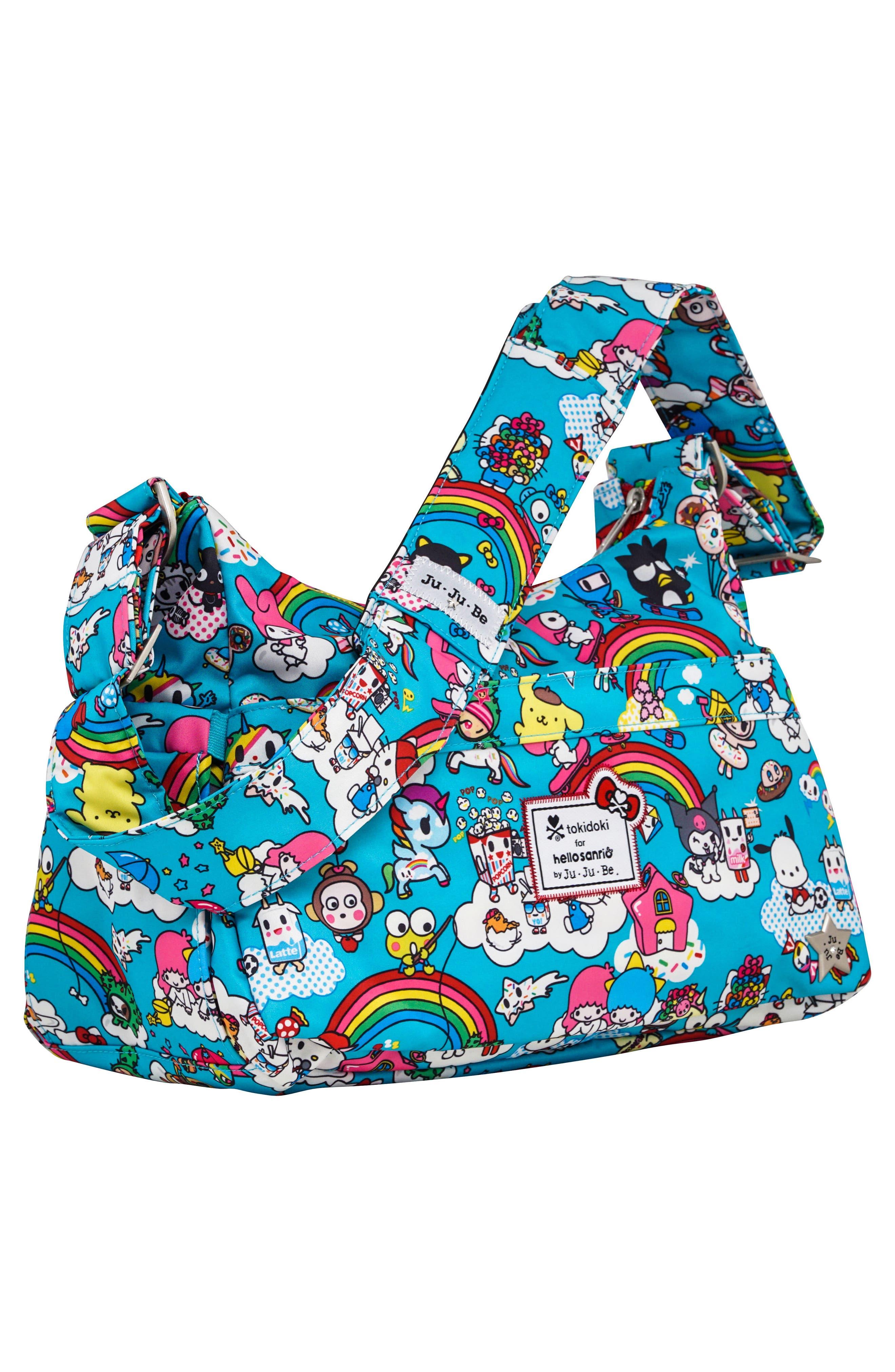 x tokidoki for Hello Sanrio Rainbow Dreams Be Hobo Diaper Bag,                             Alternate thumbnail 2, color,                             433
