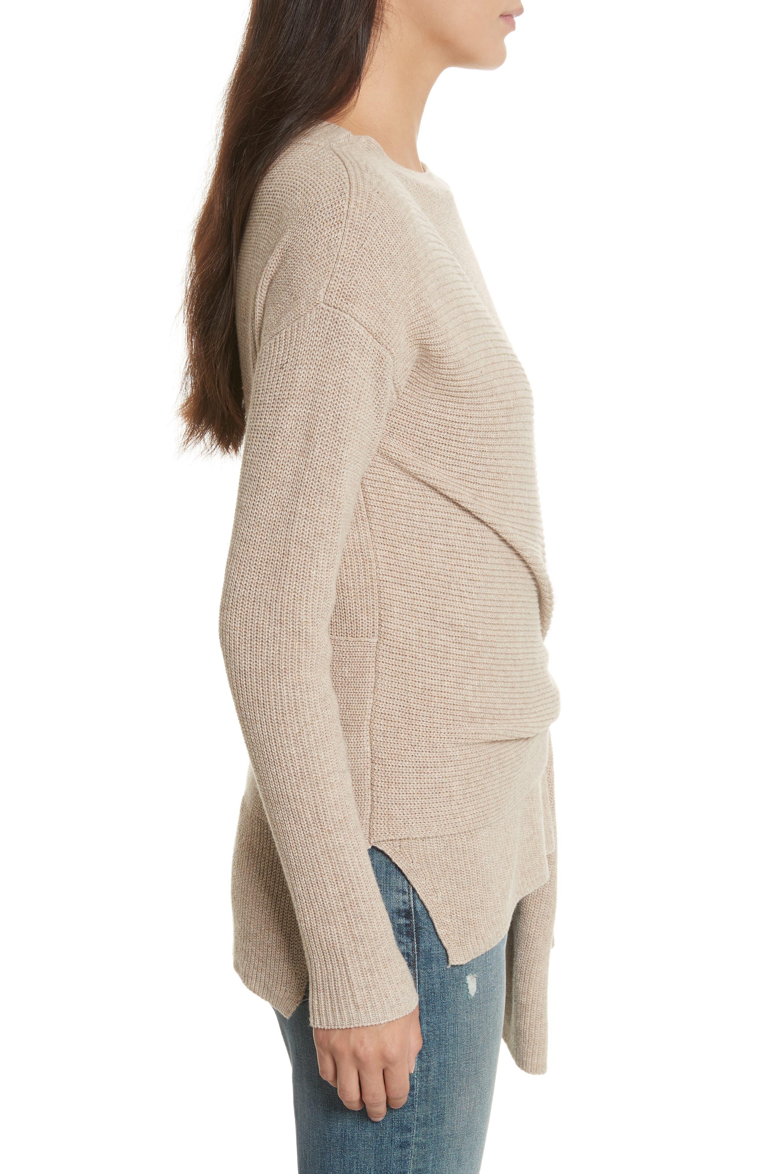 Greys Wrap Sweater,                             Alternate thumbnail 3, color,                             270