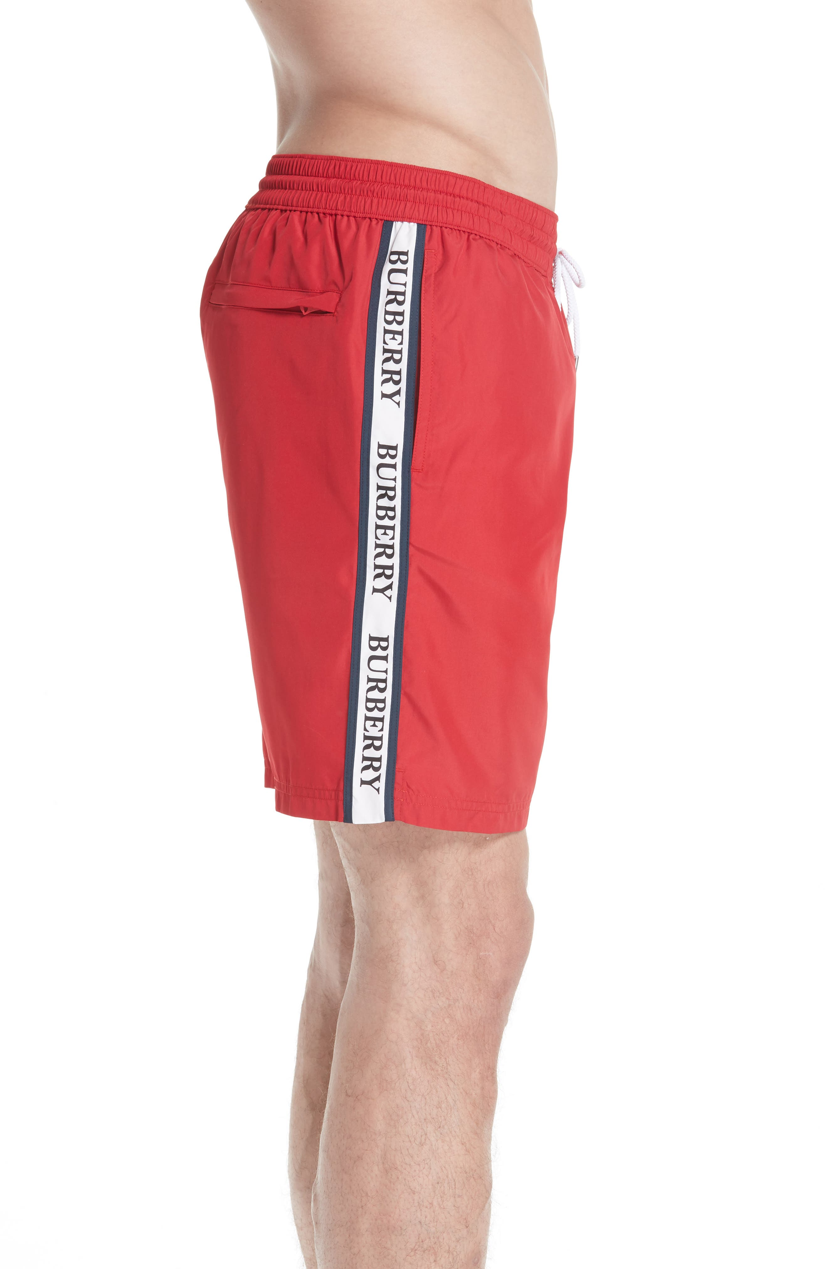 Guildes Swim Trunks,                             Alternate thumbnail 3, color,                             PARADE RED
