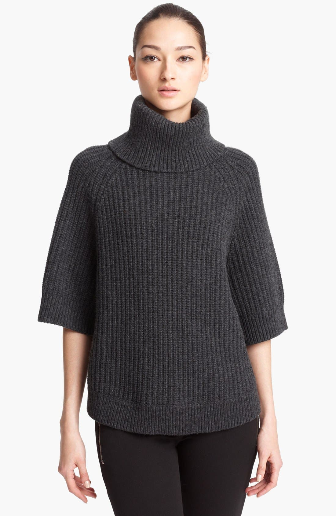 MICHAEL KORS,                             Turtleneck Sweater,                             Main thumbnail 1, color,                             020