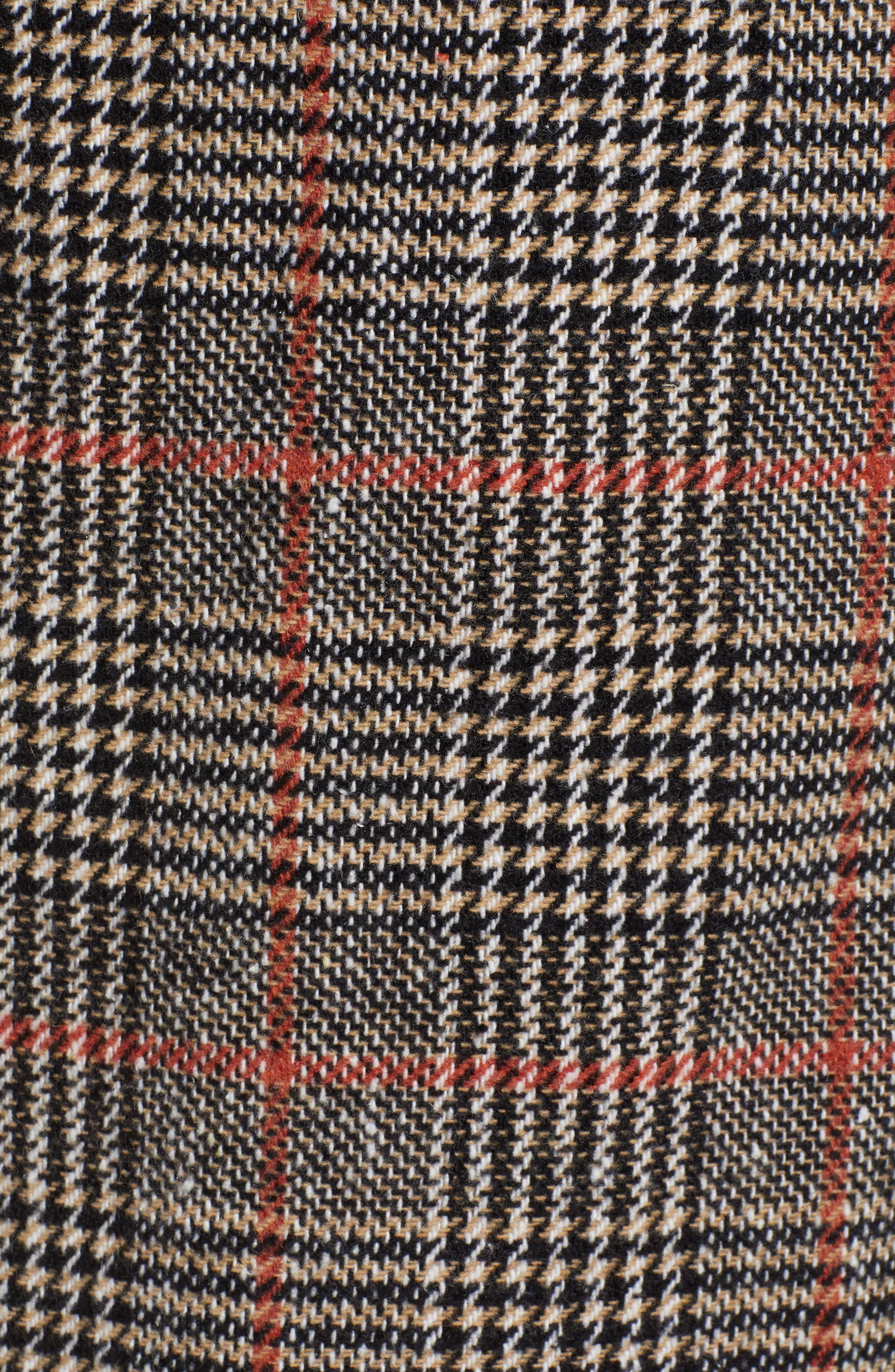 CUPCAKES AND CASHMERE,                             Plaid Duster Jacket,                             Alternate thumbnail 7, color,                             020