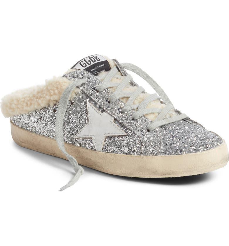 Golden Goose Sabot Superstar Genuine Shearling Slide Sneaker (Women ... d3801497b7ac