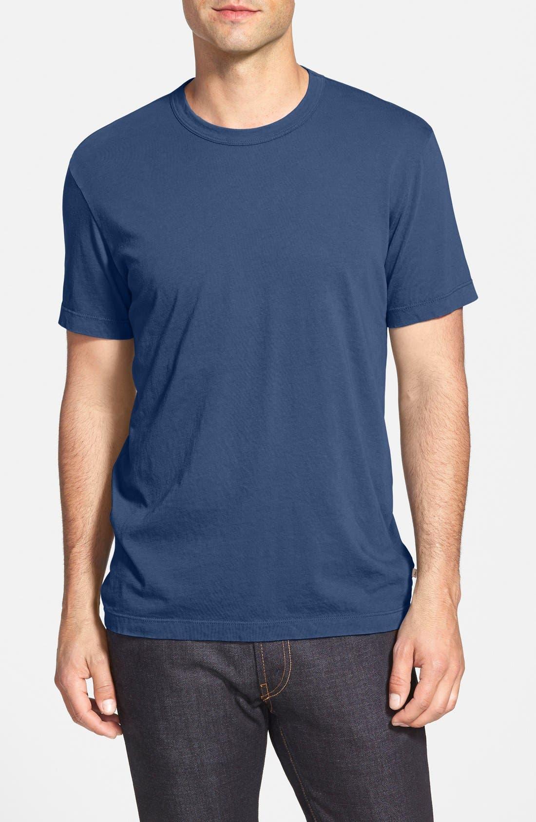 Crewneck Jersey T-Shirt,                             Main thumbnail 12, color,