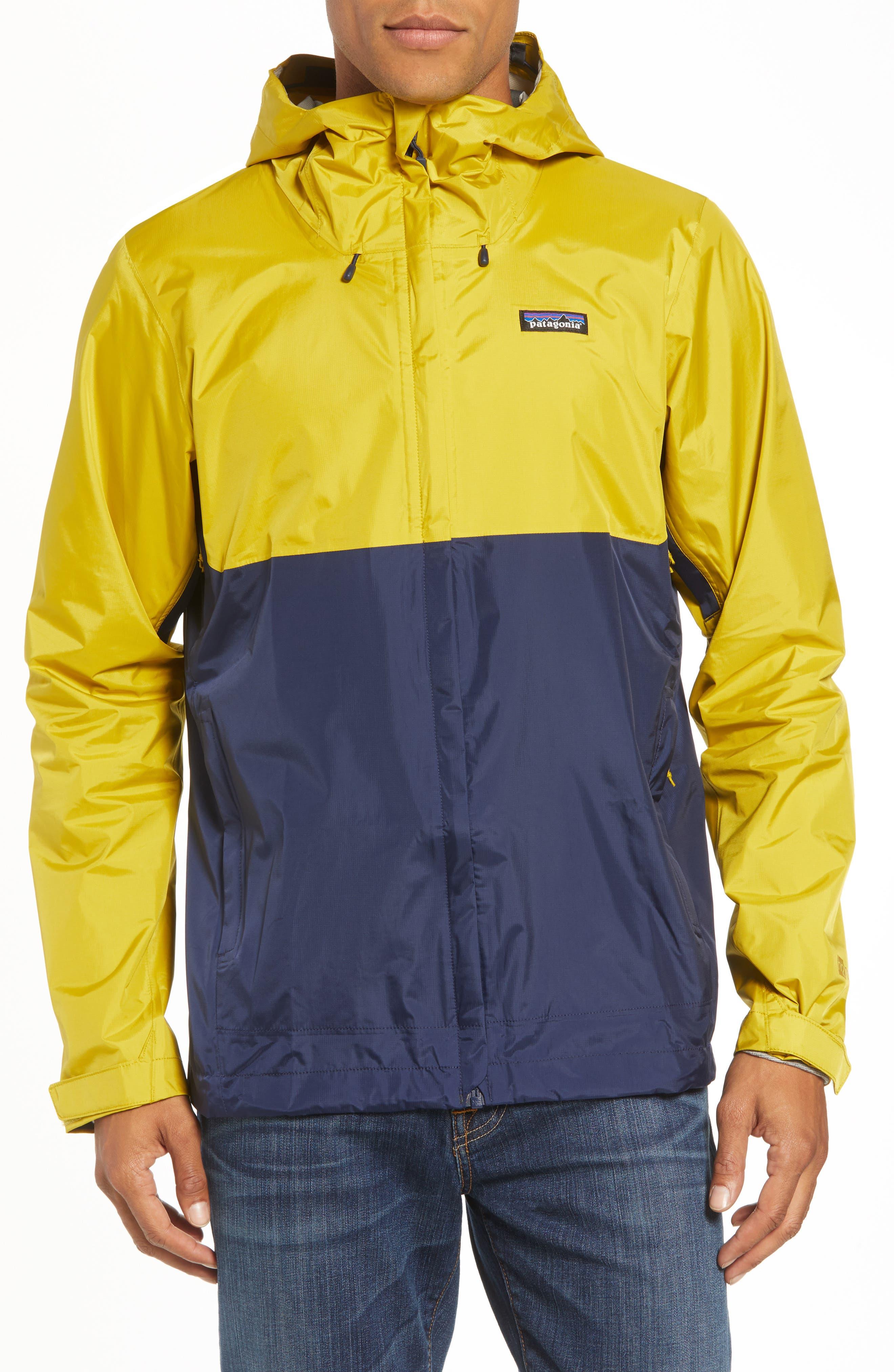 'Torrentshell' Packable Rain Jacket,                         Main,                         color, TEXTILE GREEN