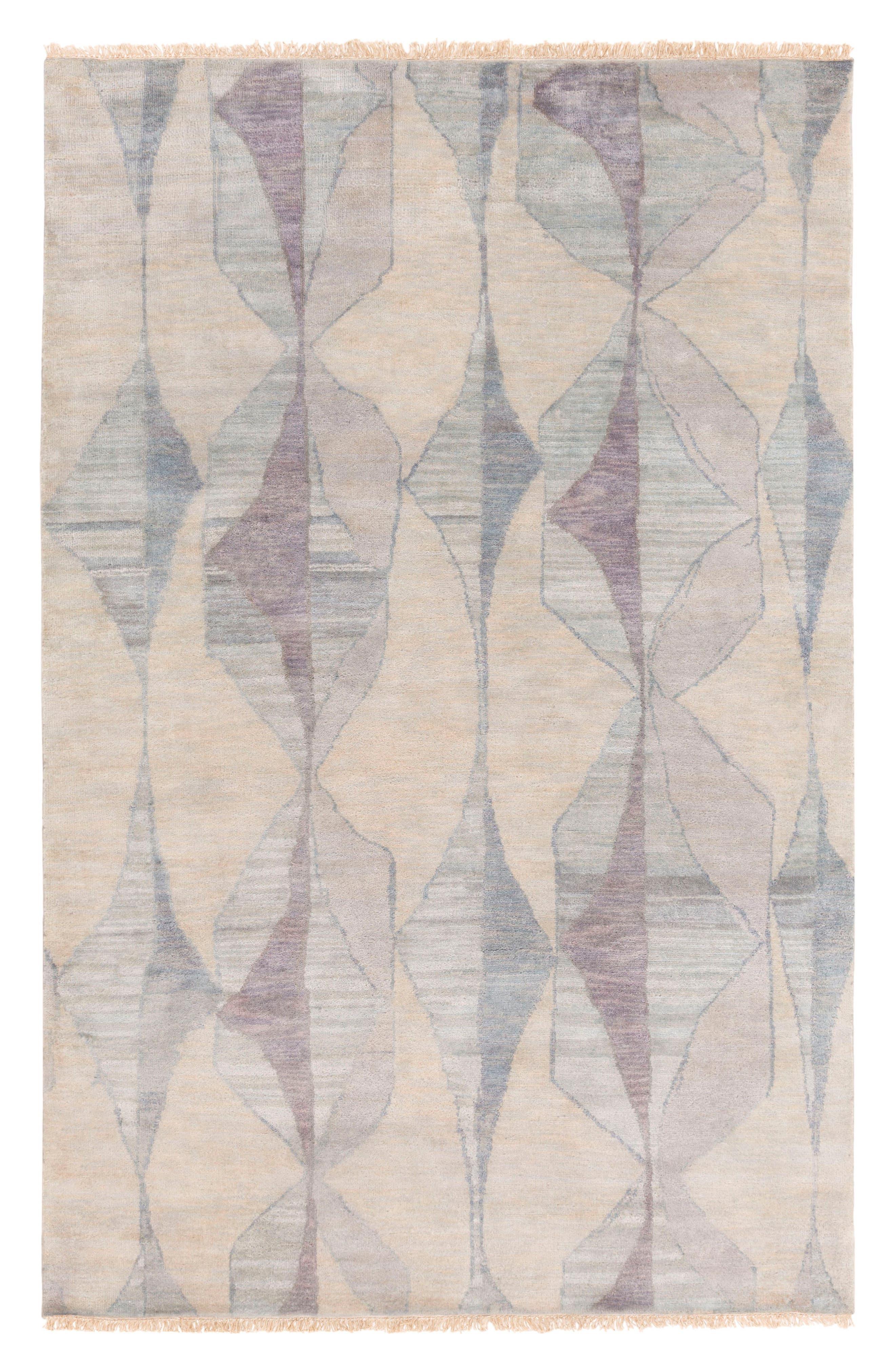 Abstract Gathers Wool Rug,                             Main thumbnail 1, color,                             250