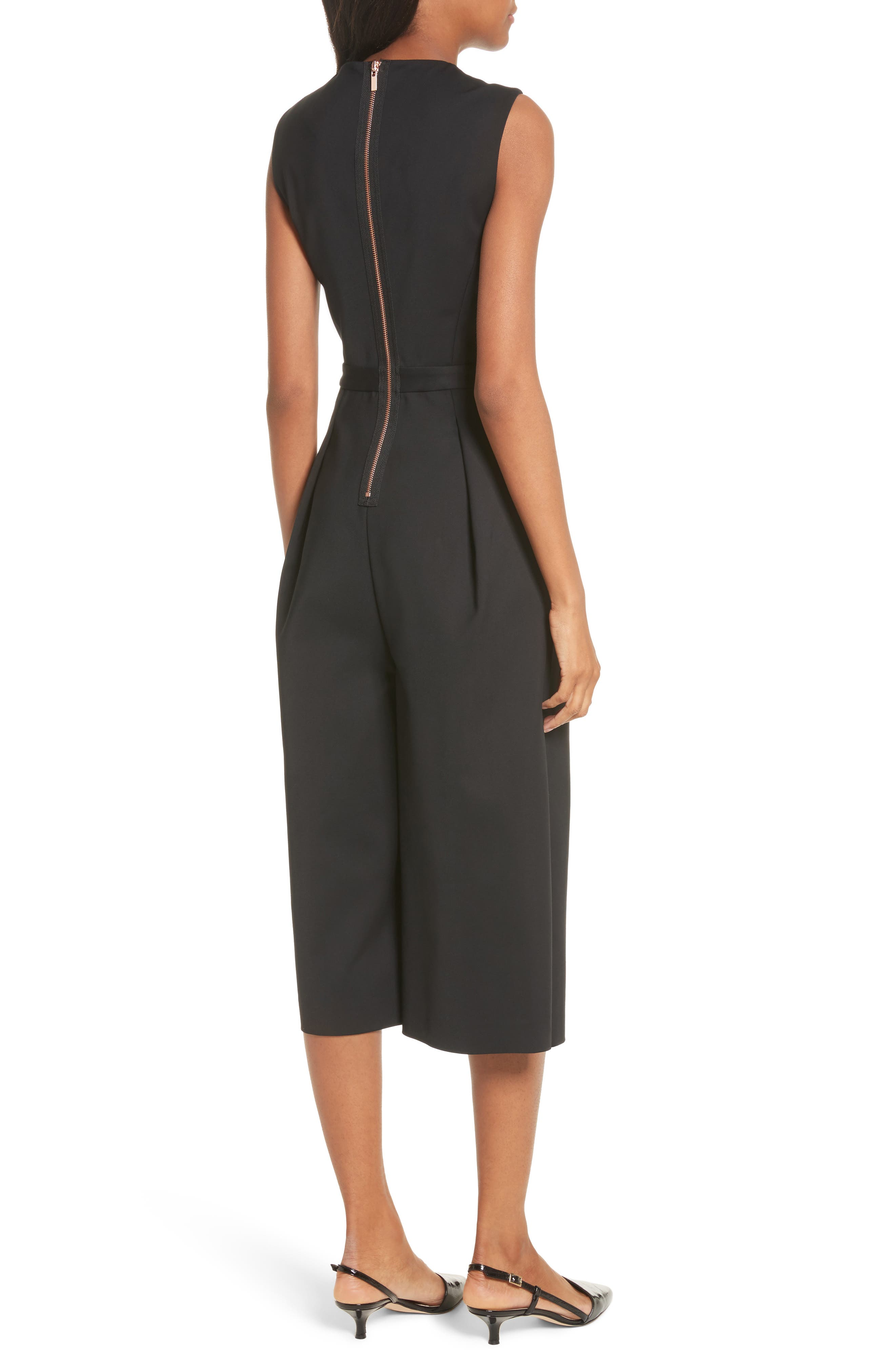 Side Cutout Jumpsuit,                             Alternate thumbnail 2, color,
