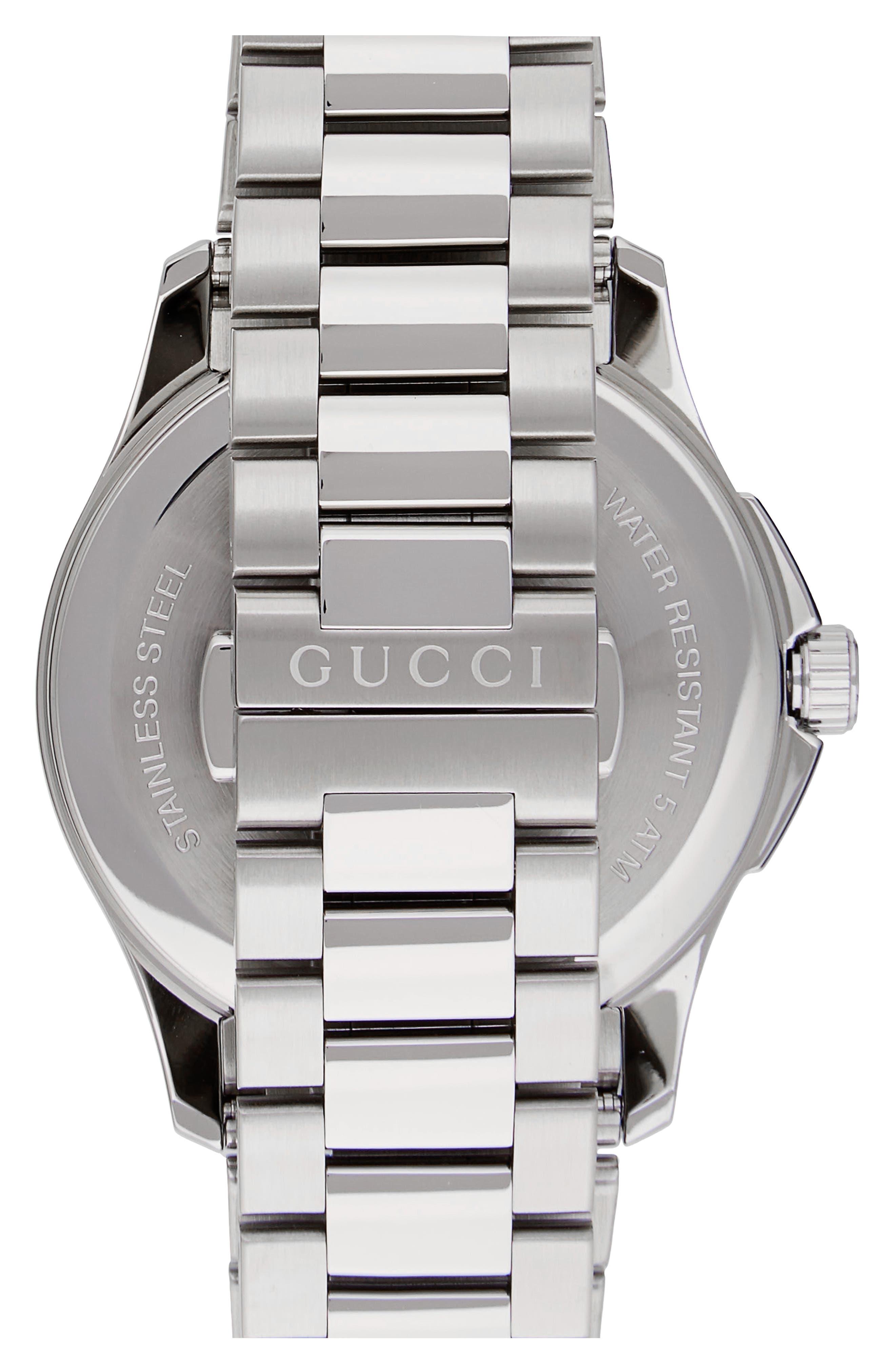 G-Timeless Bracelet Watch, 38mm,                             Alternate thumbnail 2, color,                             SILVER