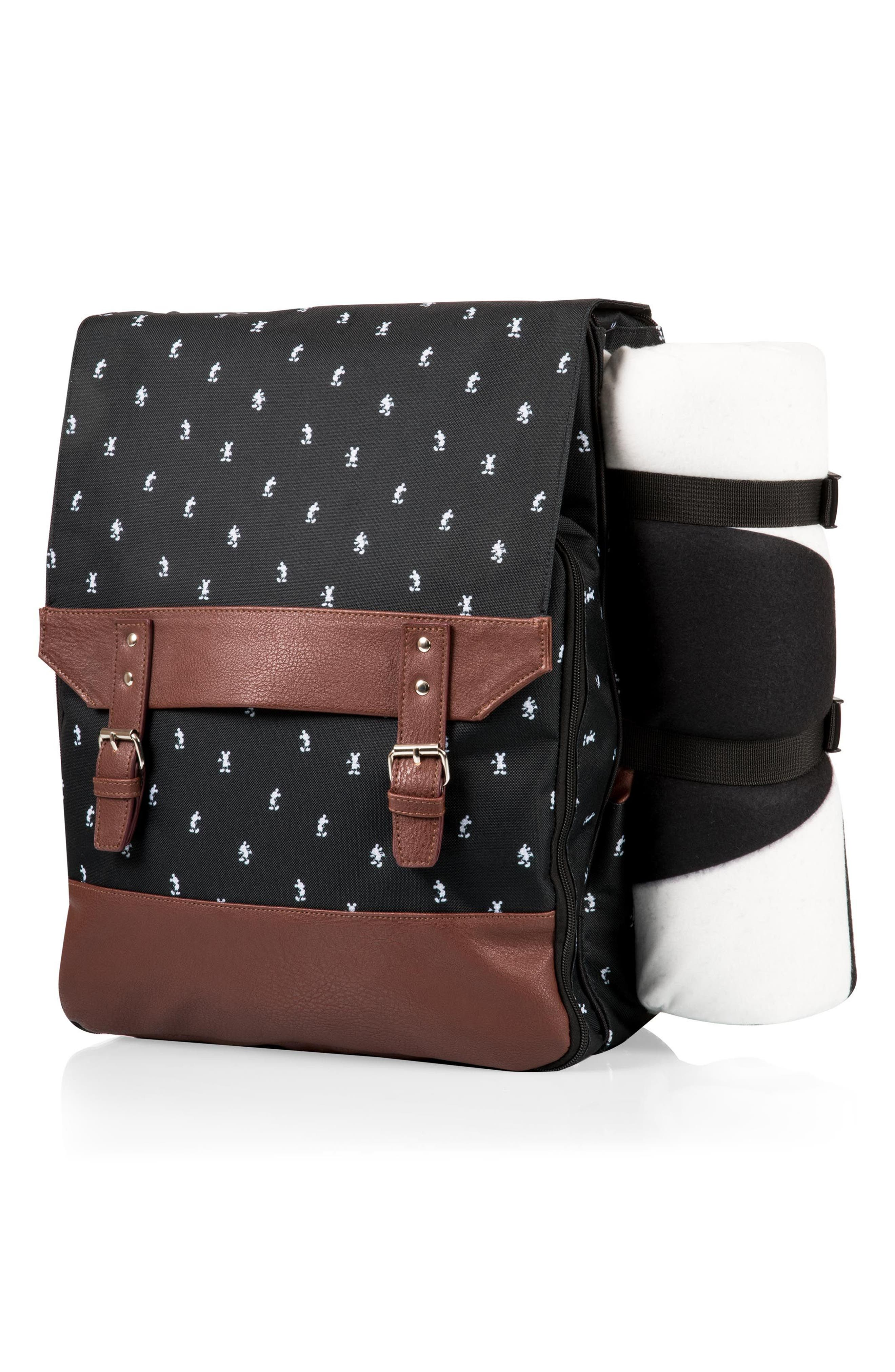 Mickey Mouse<sup>®</sup> Picnic Backpack,                             Alternate thumbnail 3, color,                             001