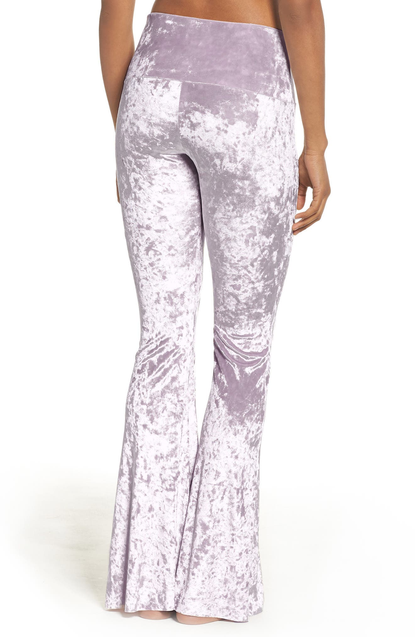 Flare Leg Yoga Pants,                             Alternate thumbnail 7, color,