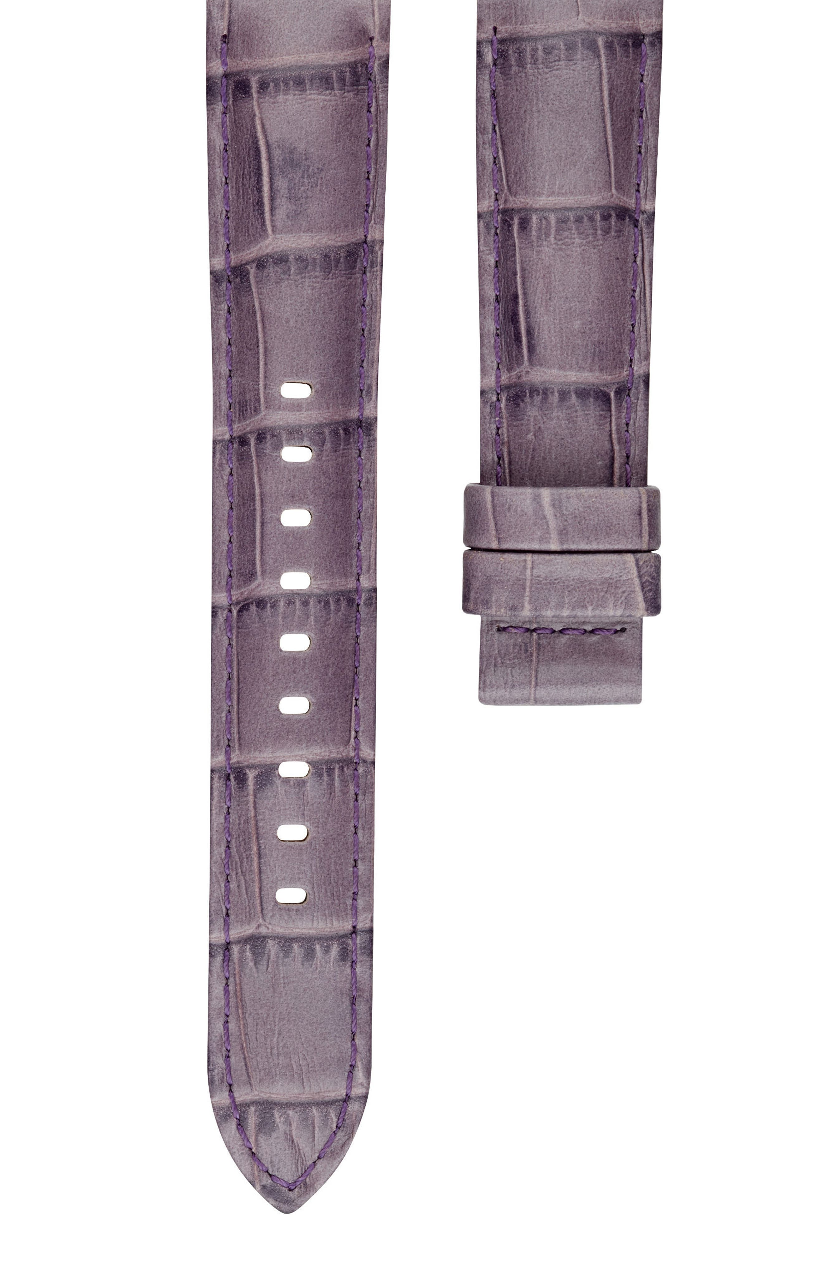 Sofie 18mm Leather Watch Strap,                             Main thumbnail 4, color,