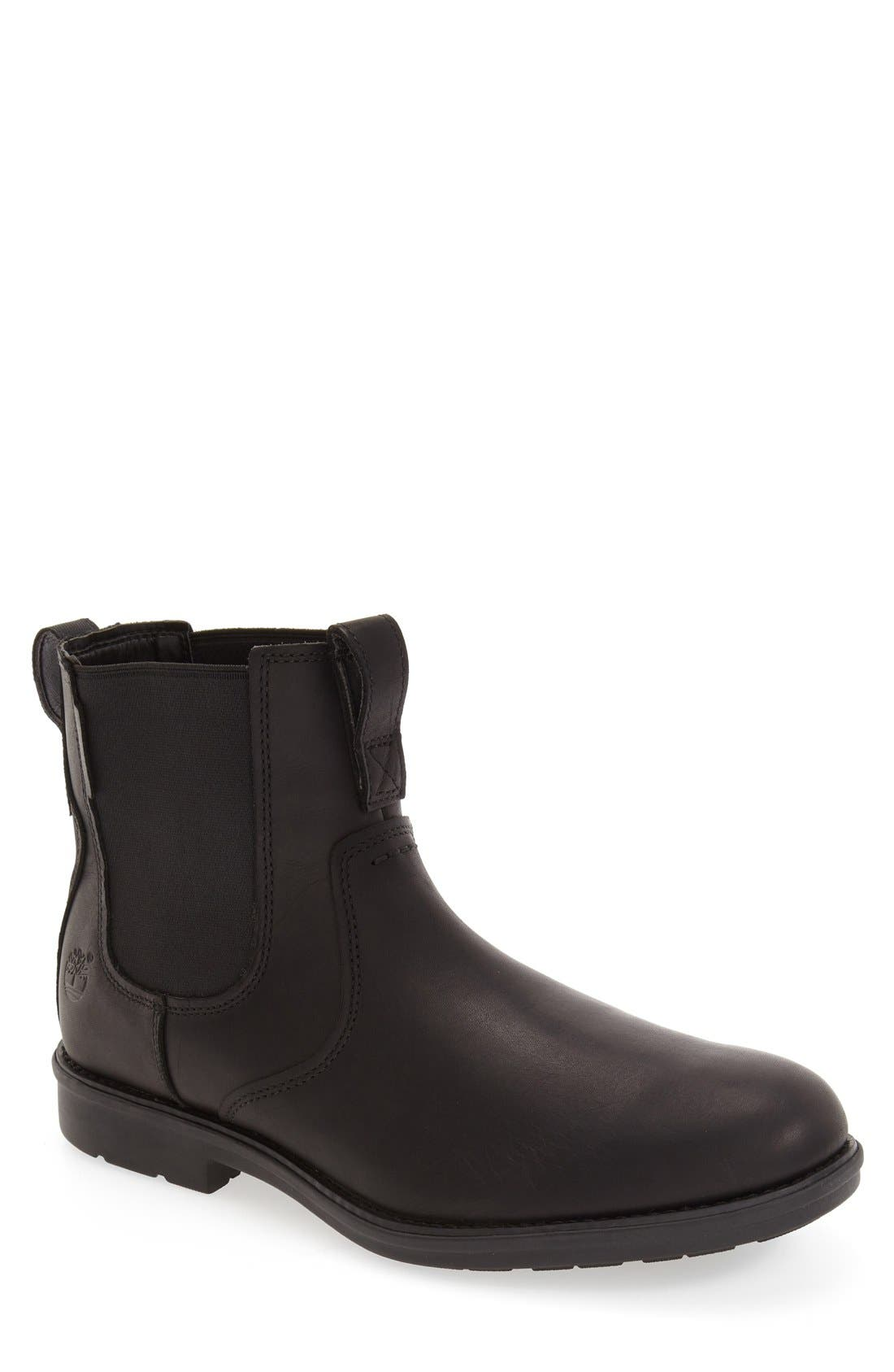 TIMBERLAND 'Carter' Chelsea Boot, Main, color, 001