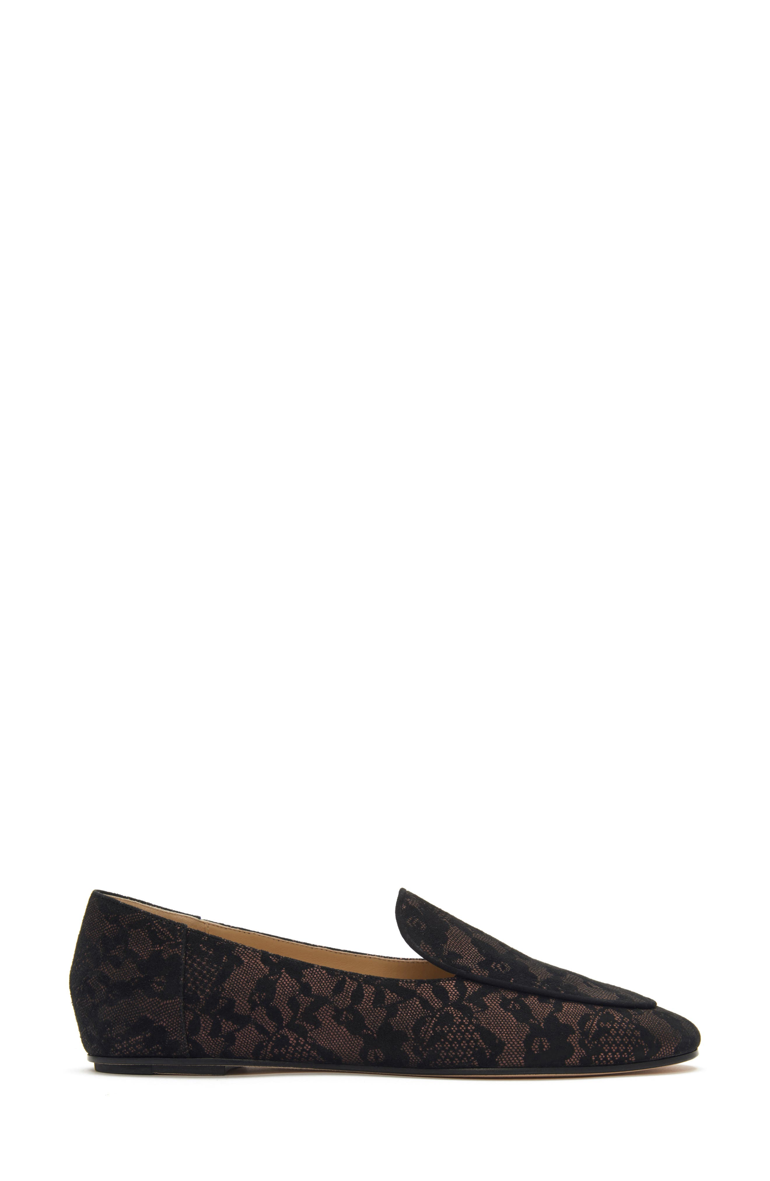 Camille Loafer,                             Alternate thumbnail 2, color,                             DARK BROWN SUEDE