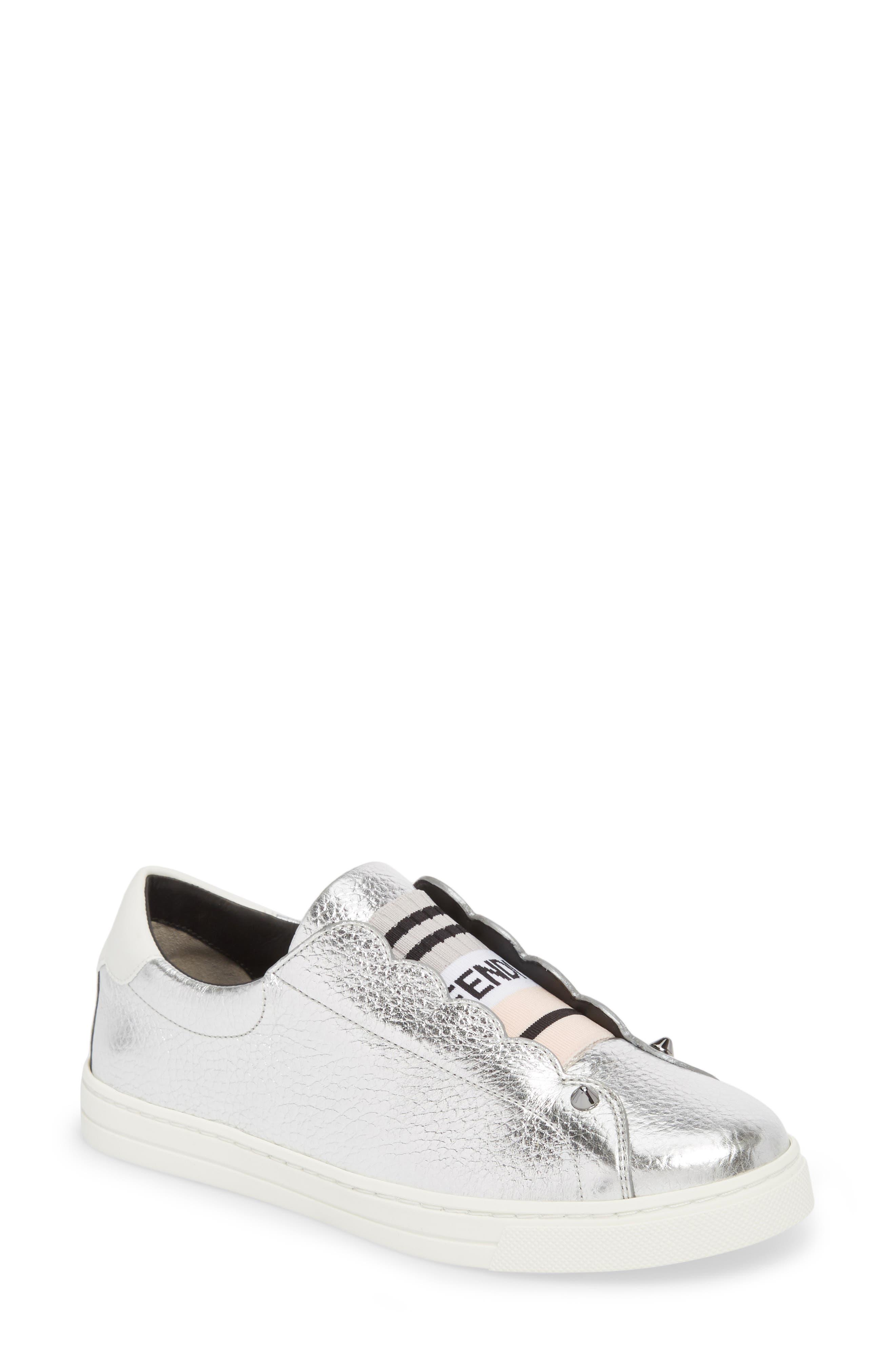 Rockono Slip-On Sneaker,                         Main,                         color, SILVER