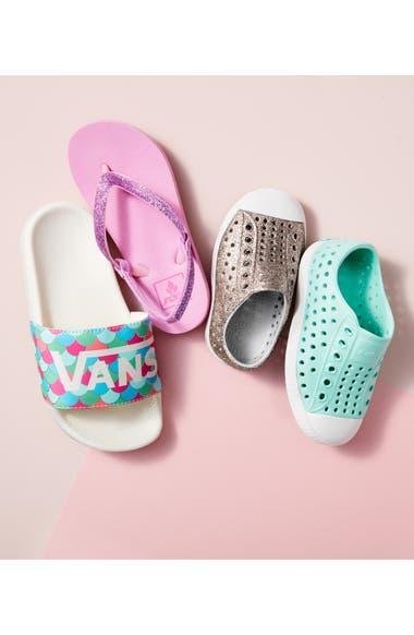 69de1d8c9d373 Native Shoes Jefferson Bling Glitter Slip-On Vegan Sneaker (Baby ...