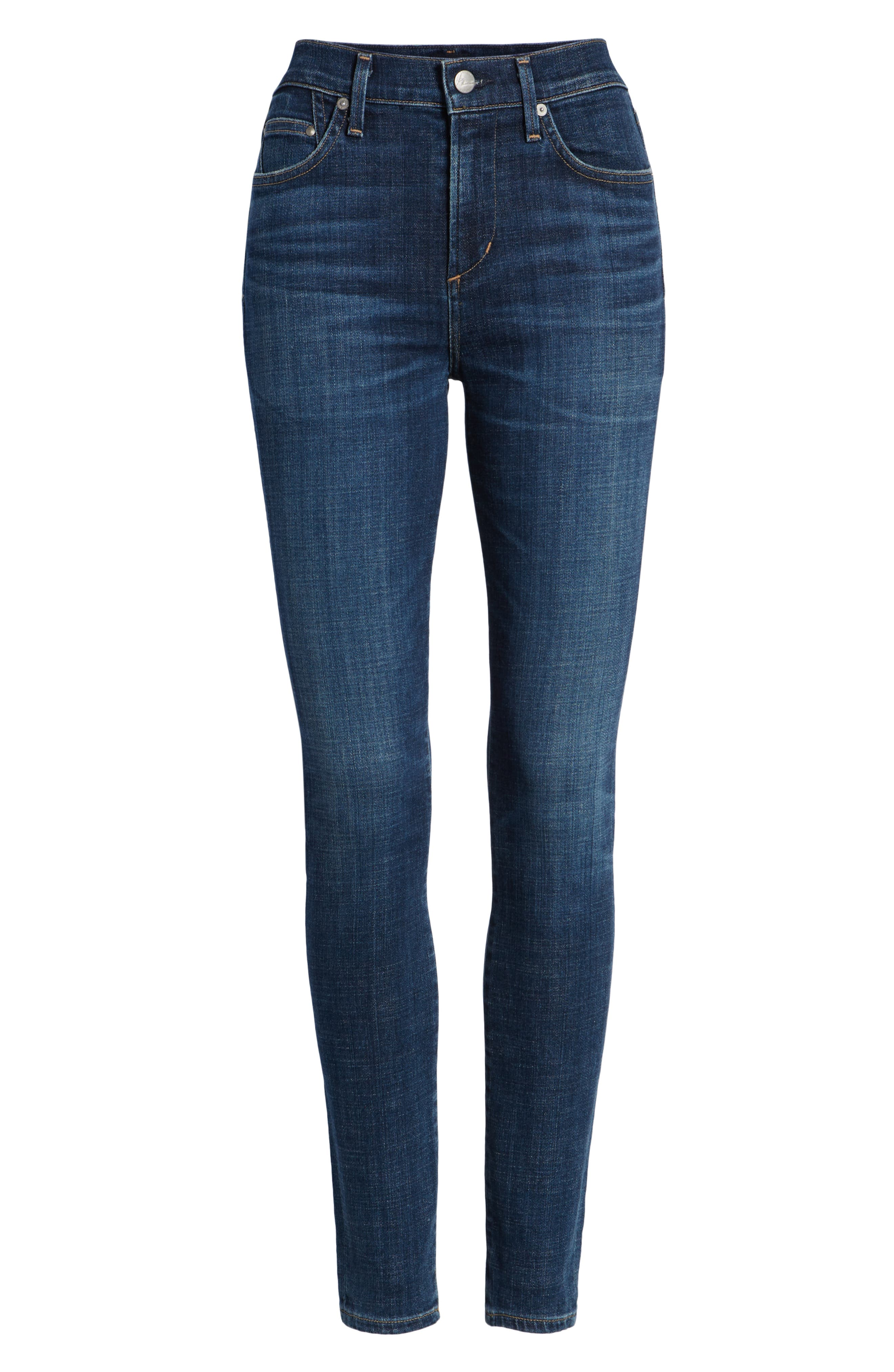 Rocket High Waist Skinny Jeans,                             Alternate thumbnail 7, color,                             428