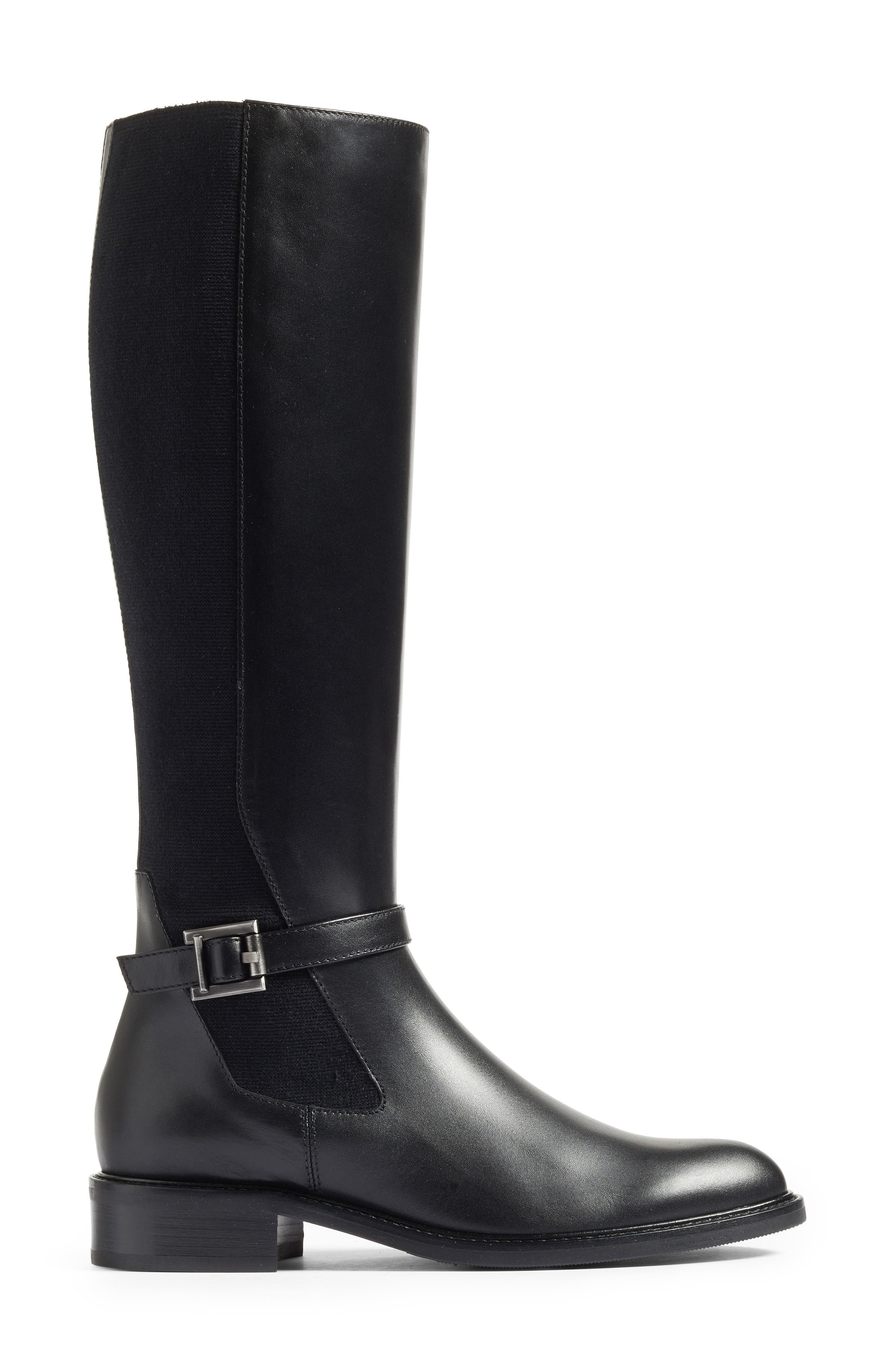 Genna Weatherproof Tall Boot,                             Alternate thumbnail 3, color,                             001