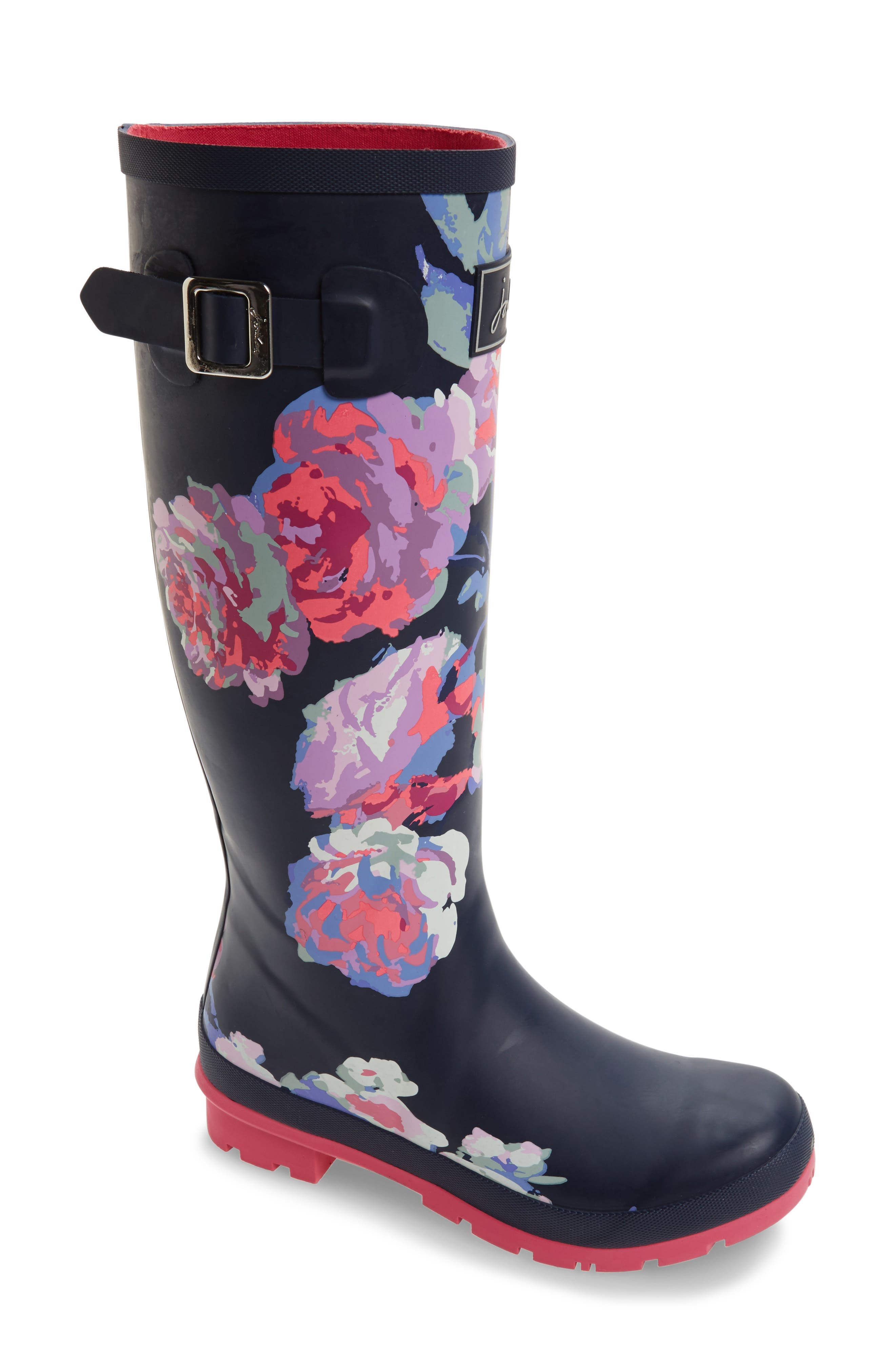 'Welly' Print Rain Boot,                             Main thumbnail 43, color,