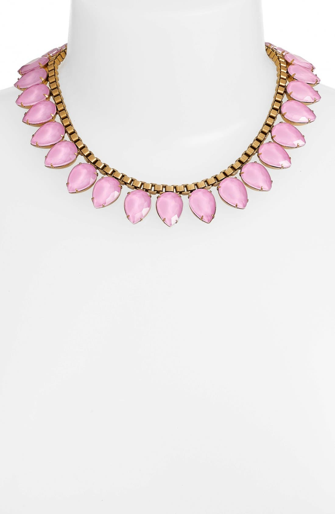 'Sylvia' Crystal Collar Necklace,                             Alternate thumbnail 19, color,