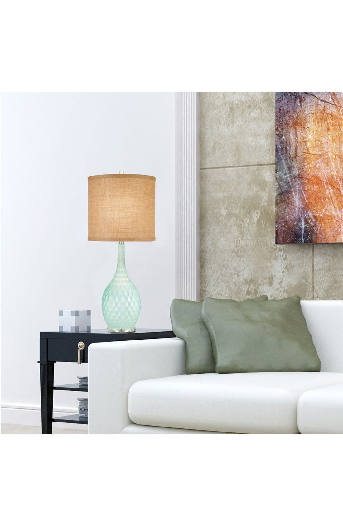 JAlexander 'Seafoam' Glass Table Lamp,                             Alternate thumbnail 2, color,                             400