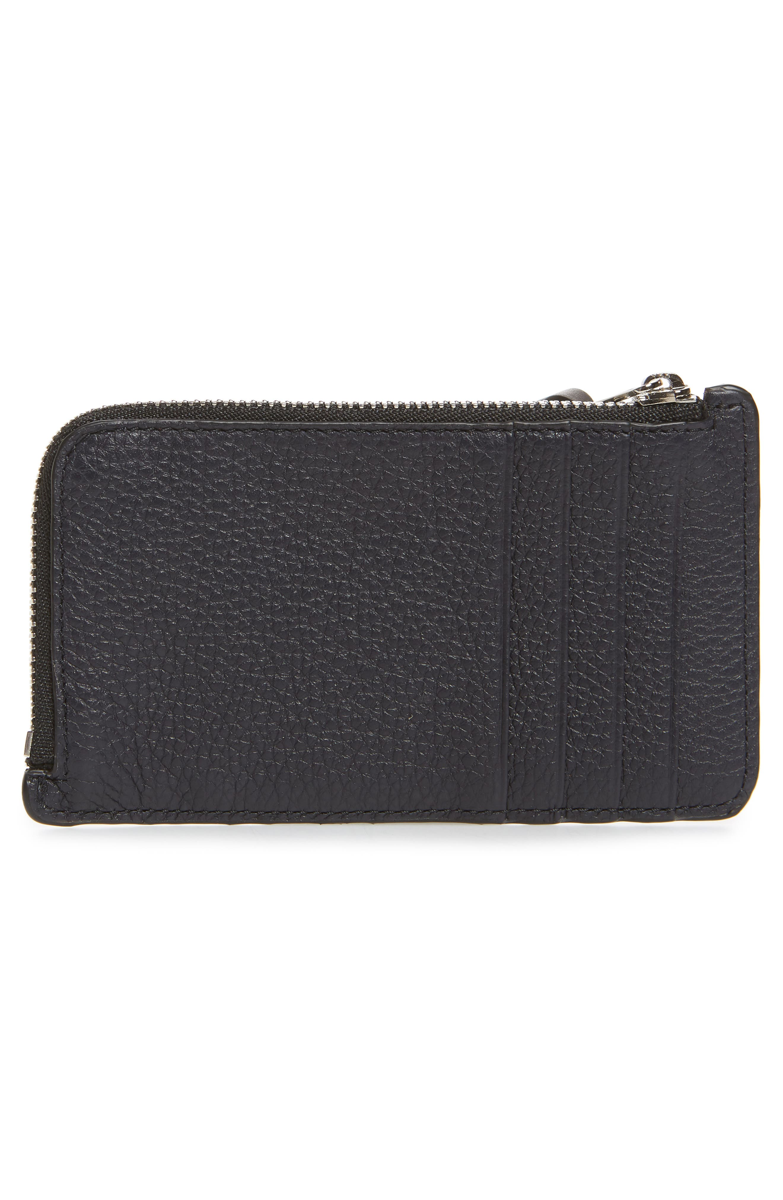 Leather Card & Coin Case,                             Alternate thumbnail 3, color,                             405