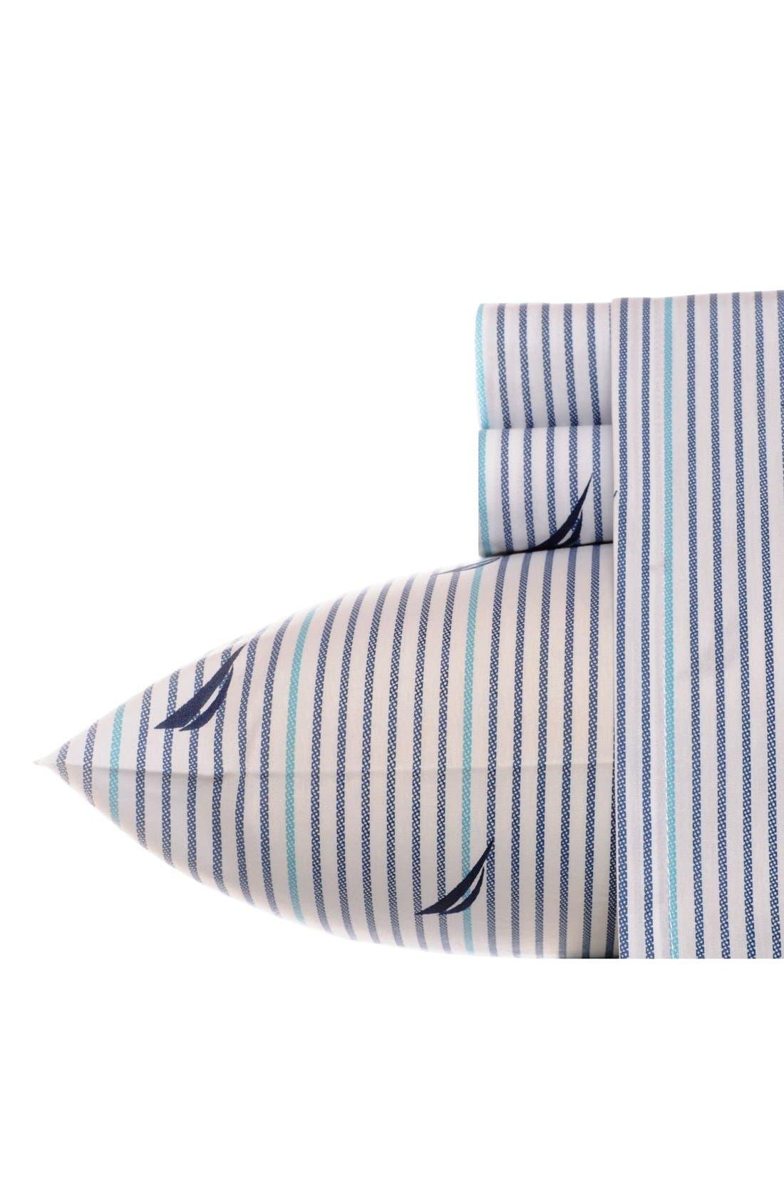'Audley' Cotton Sheet Set,                         Main,                         color, 400