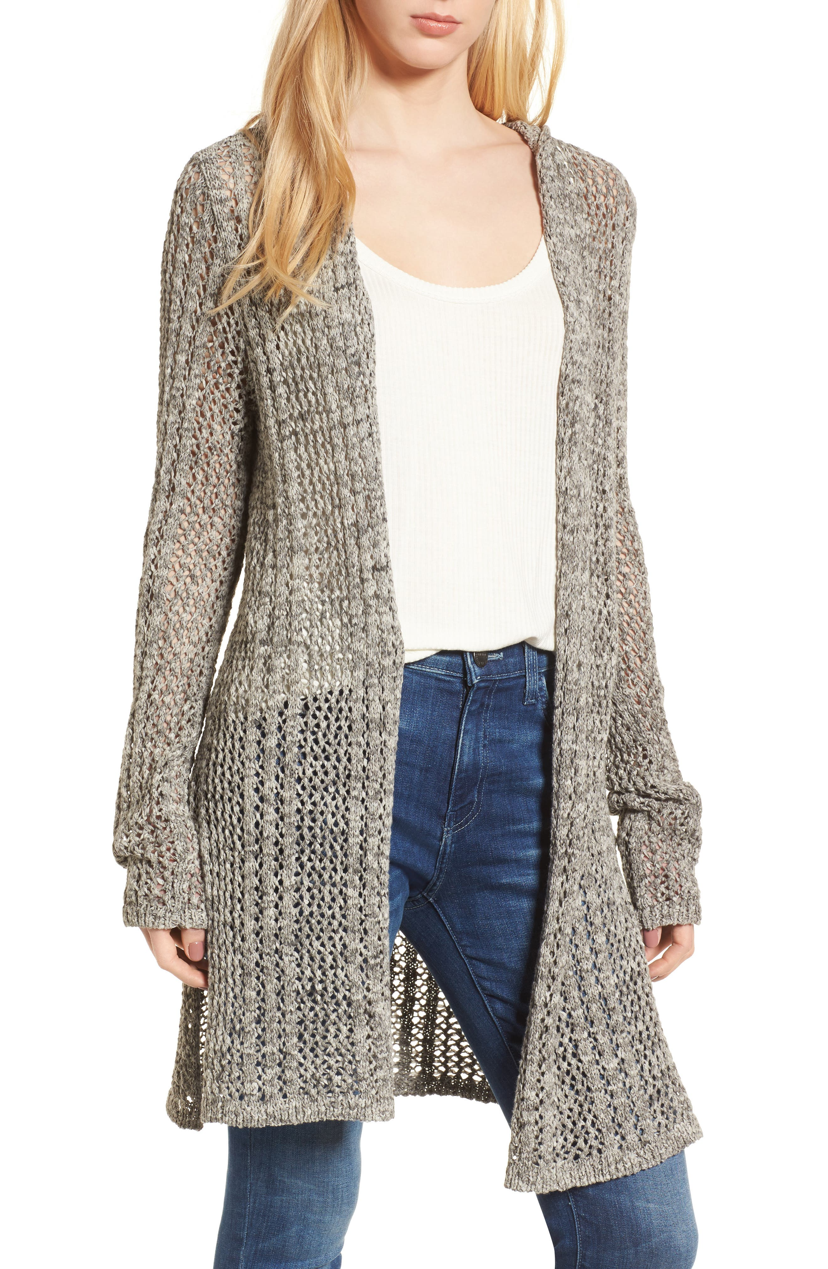 Knox Hooded Cardigan,                         Main,                         color,