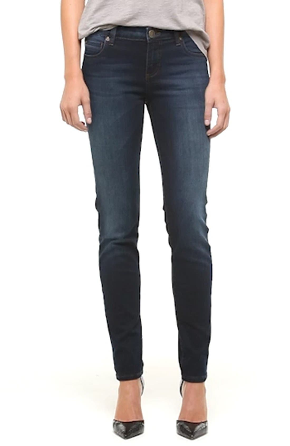 'Diana' Stretch Skinny Jeans,                             Alternate thumbnail 2, color,                             400