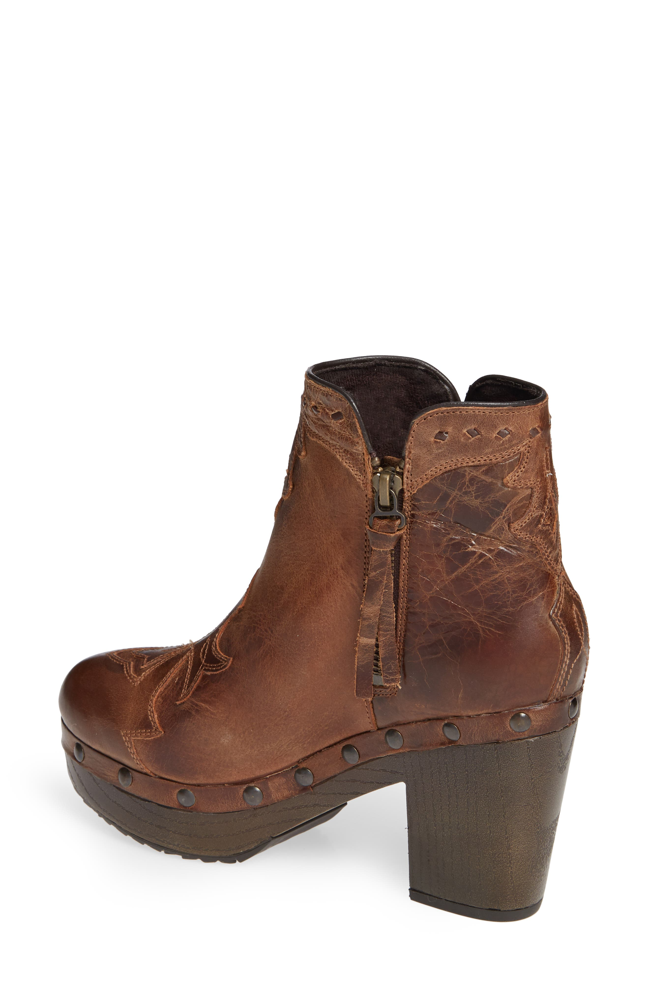 Music City Bootie,                             Alternate thumbnail 2, color,                             CRACKLED TAN LEATHER