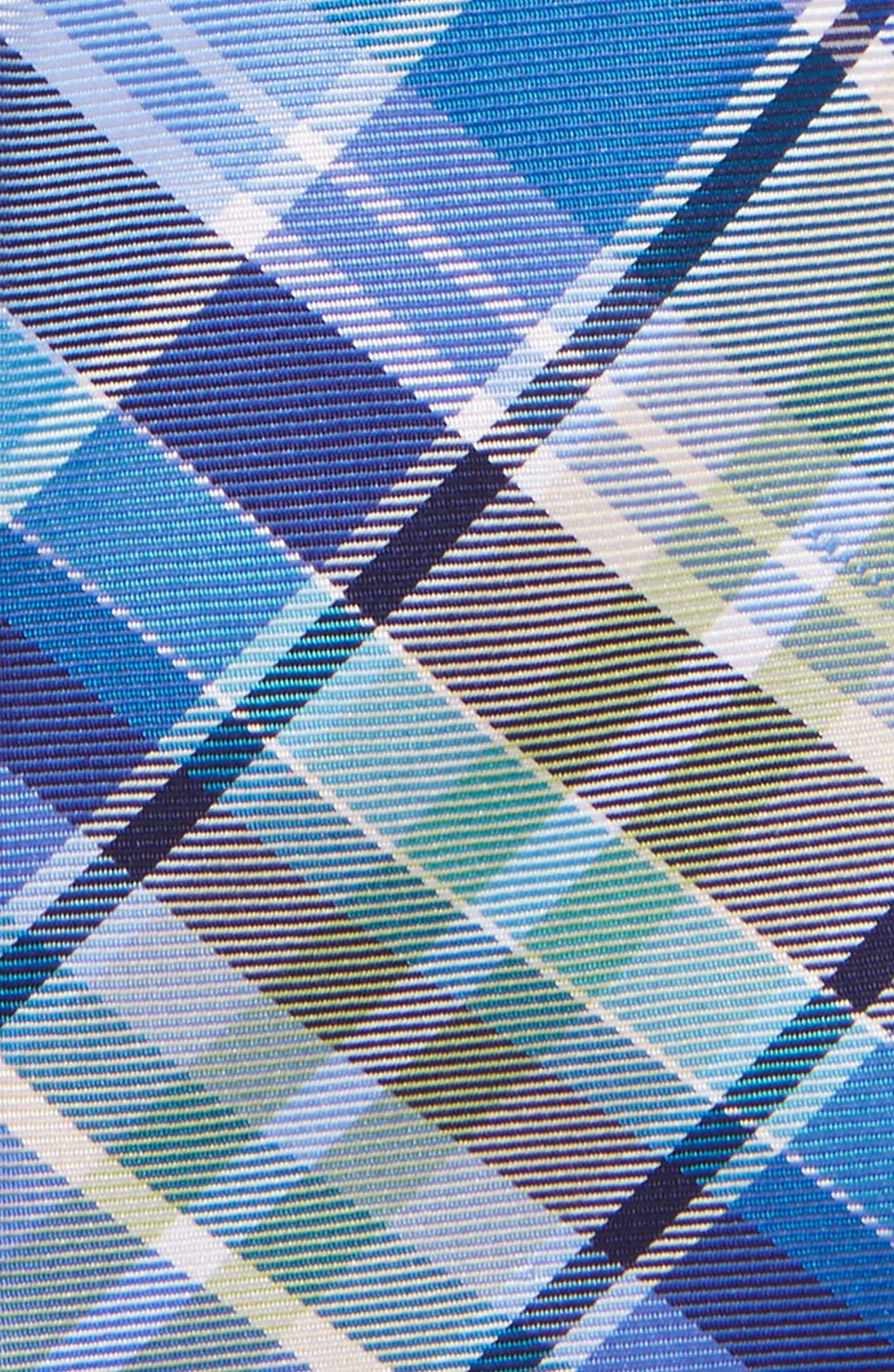Plaid Silk Tie,                             Alternate thumbnail 5, color,