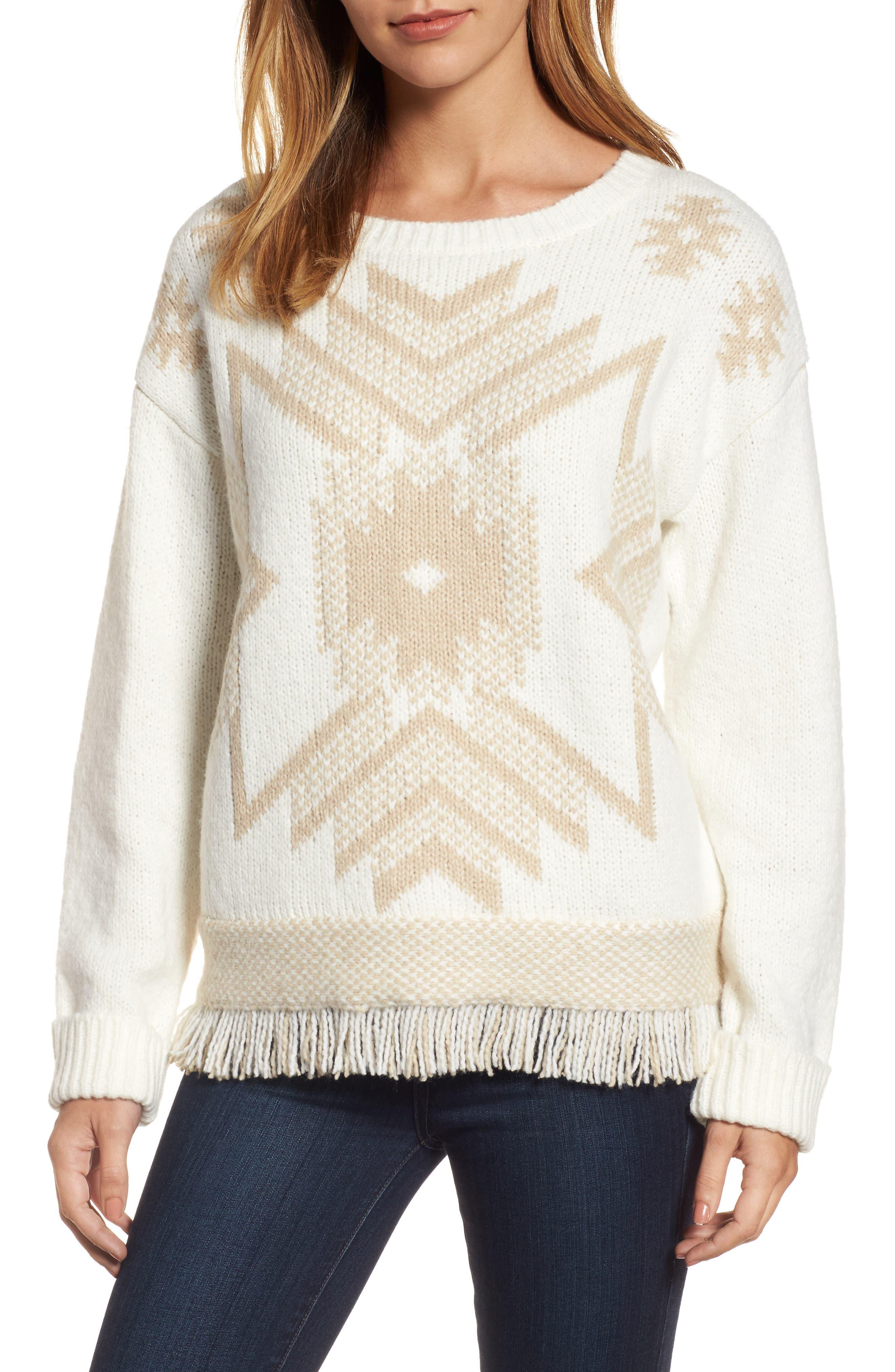 Fringe Sweater,                             Main thumbnail 4, color,