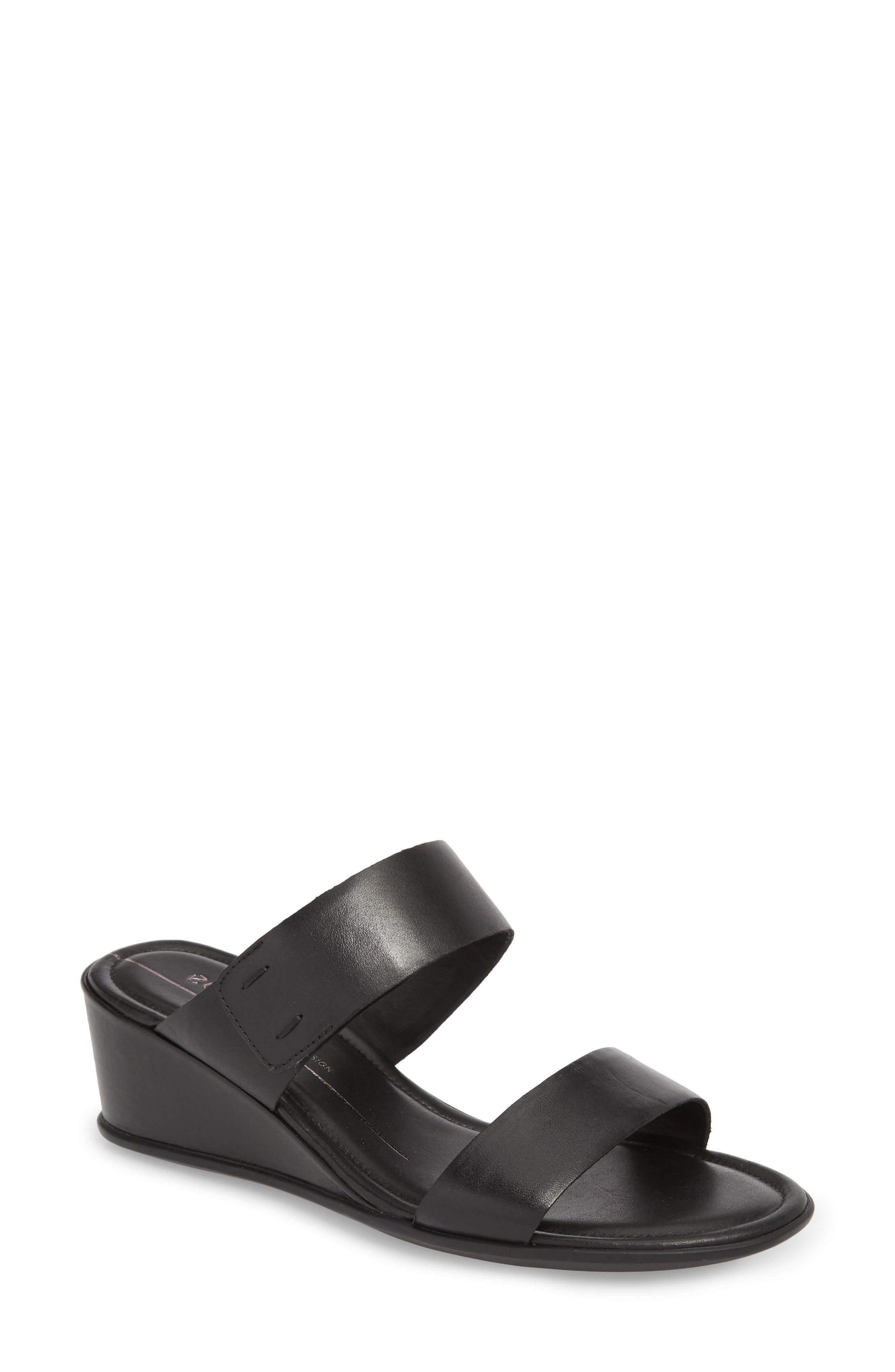 Shape 35 Wedge Sandal,                             Main thumbnail 1, color,                             001