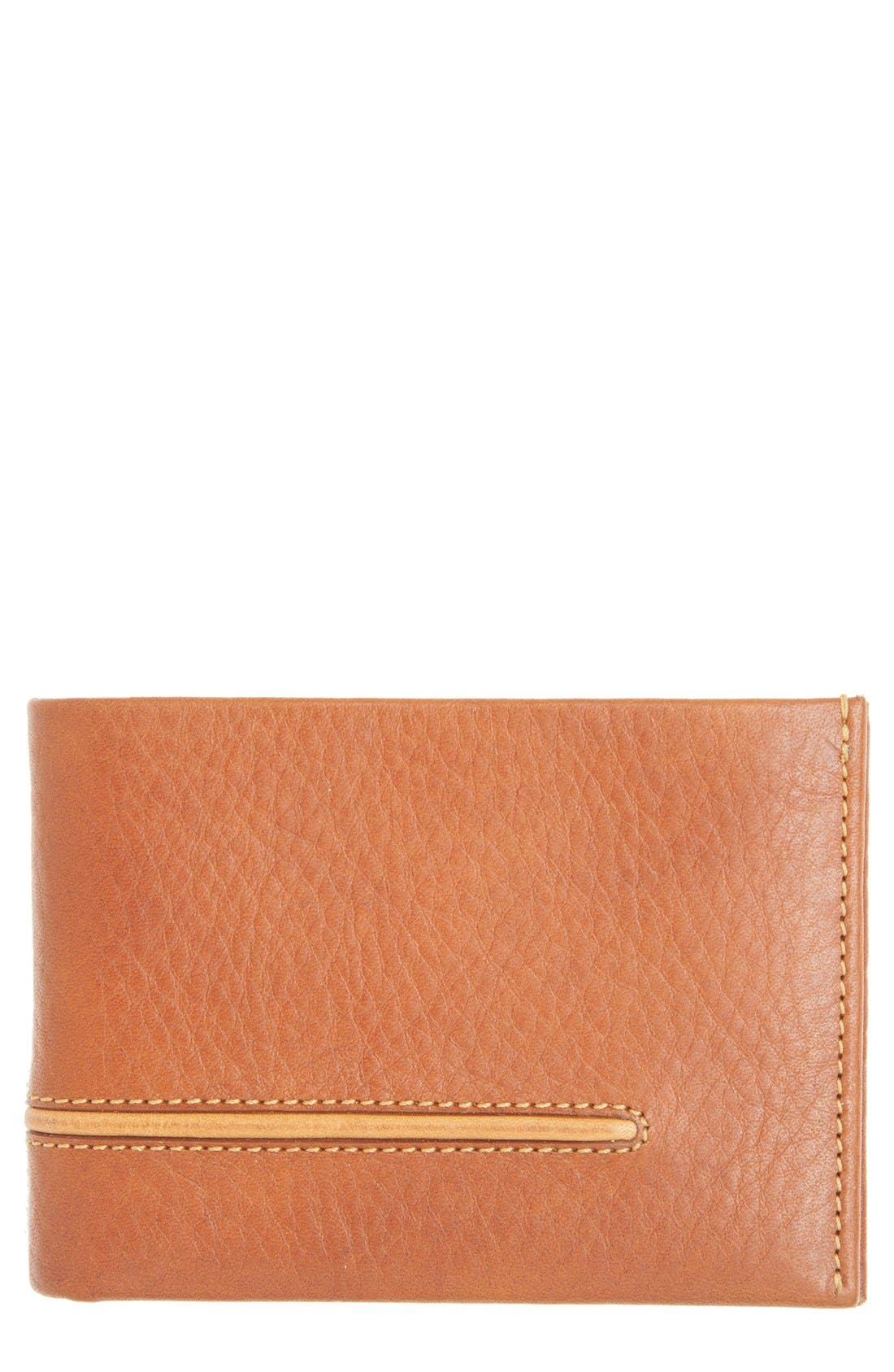Leather L-Fold Wallet,                         Main,                         color,