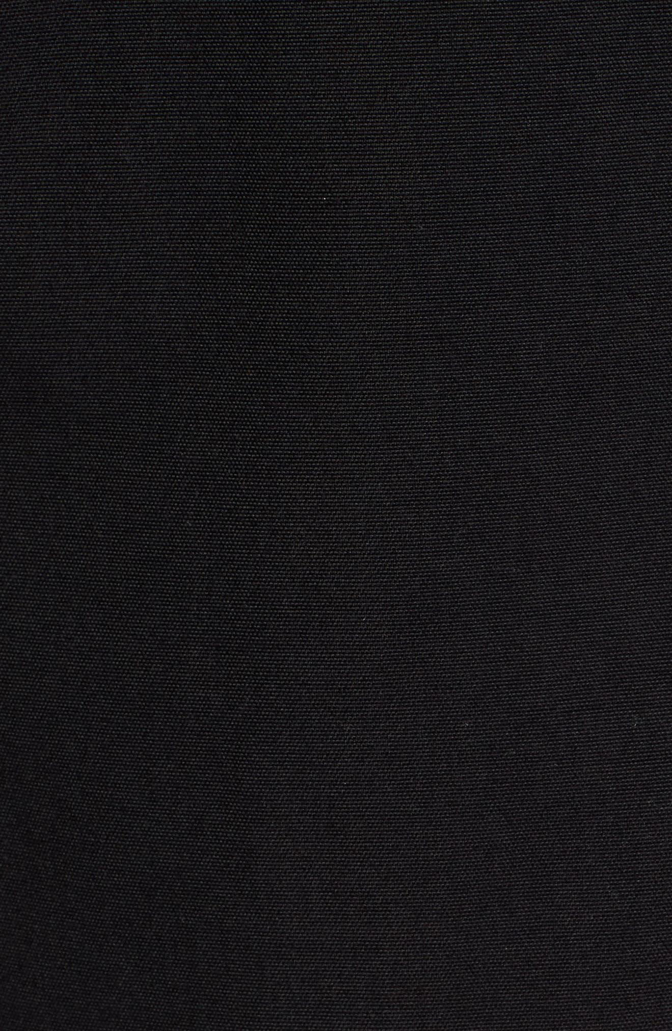 Urban Windproof & Waterproof Primaloft<sup>®</sup> Long Jacket,                             Alternate thumbnail 6, color,                             BLACK