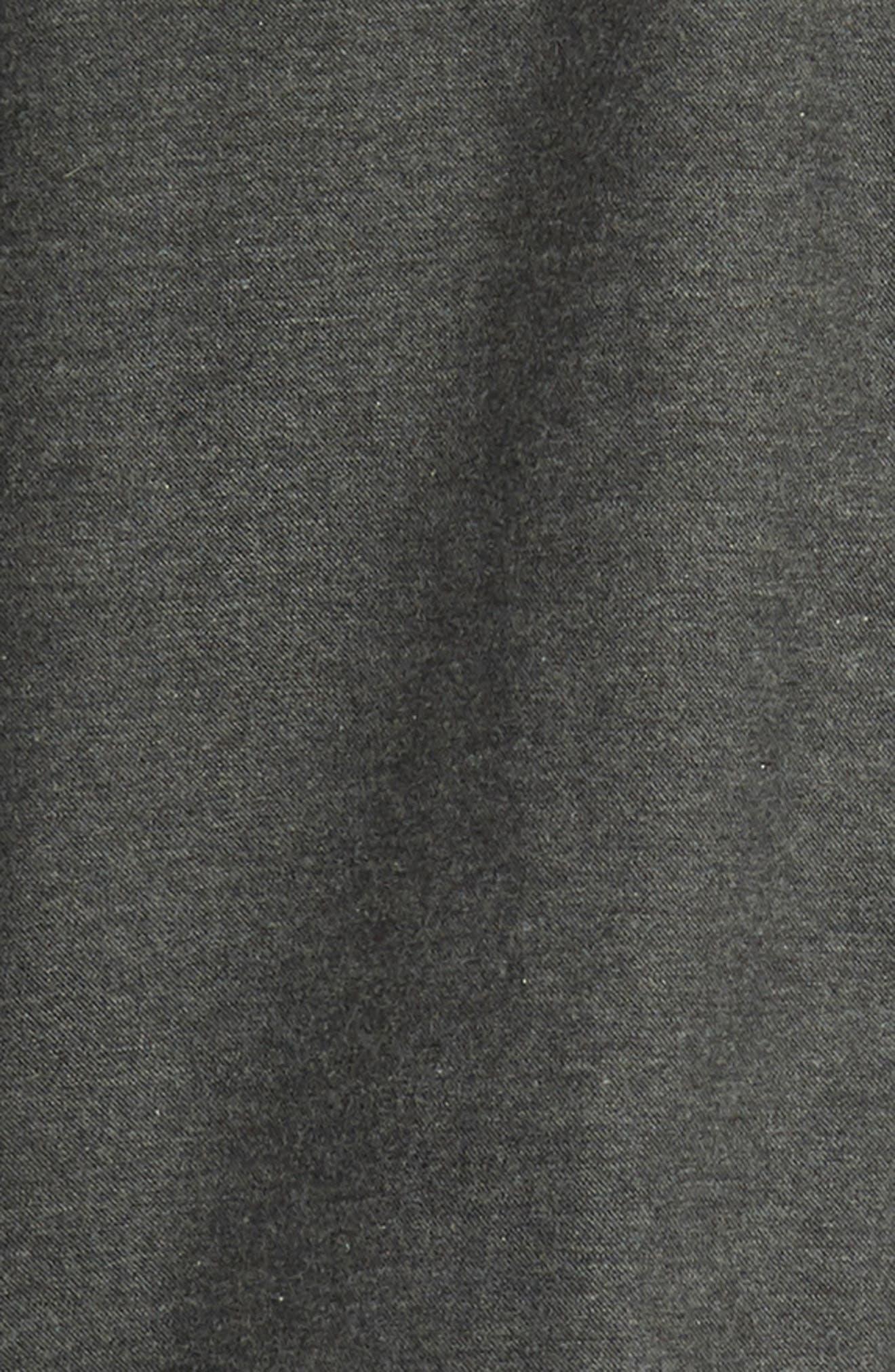 Brushed Cotton & Cashmere Twill Sport Shirt,                             Alternate thumbnail 6, color,                             020