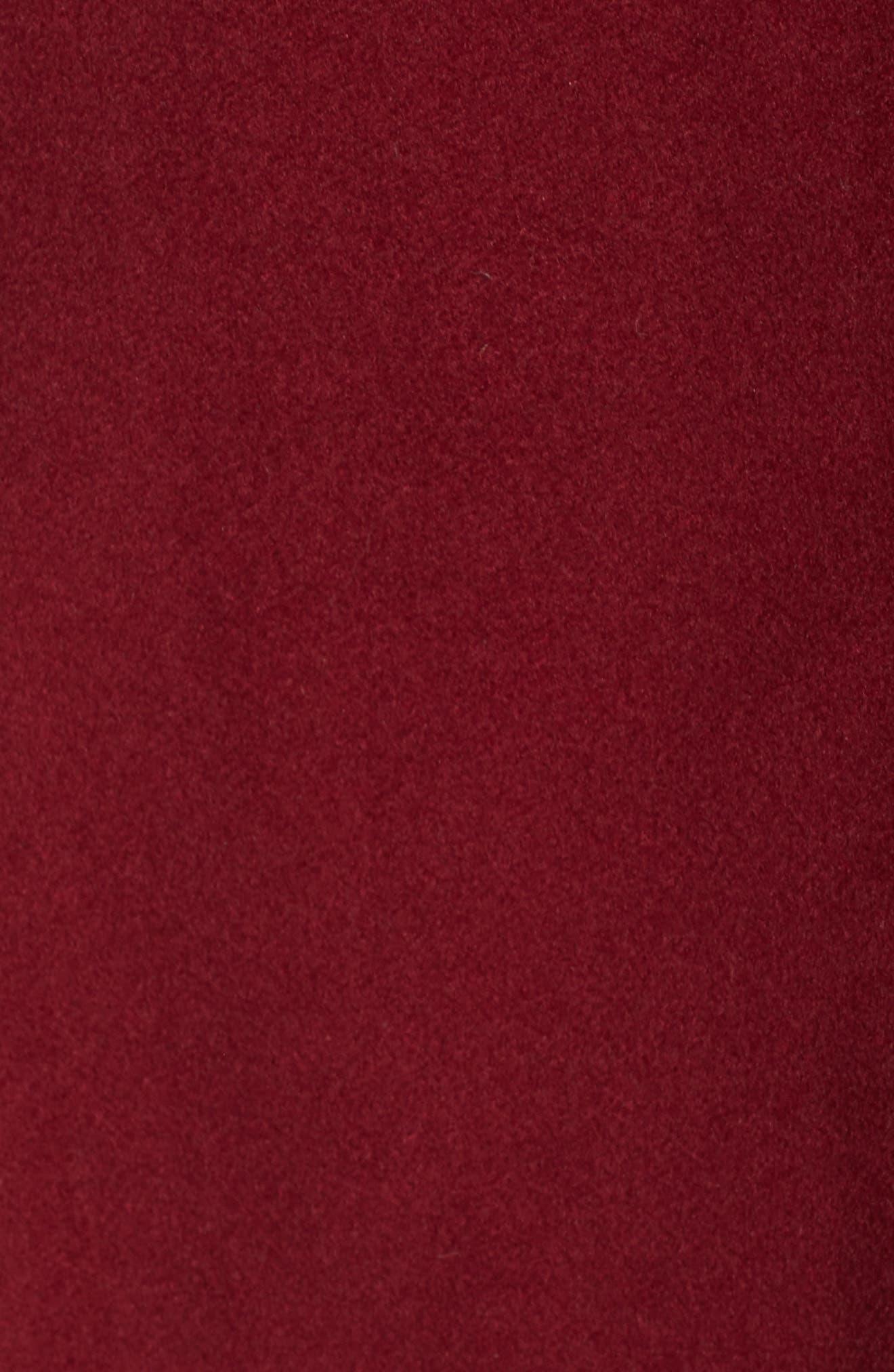 Kate Ruffle Wool Blend Coat,                             Alternate thumbnail 19, color,