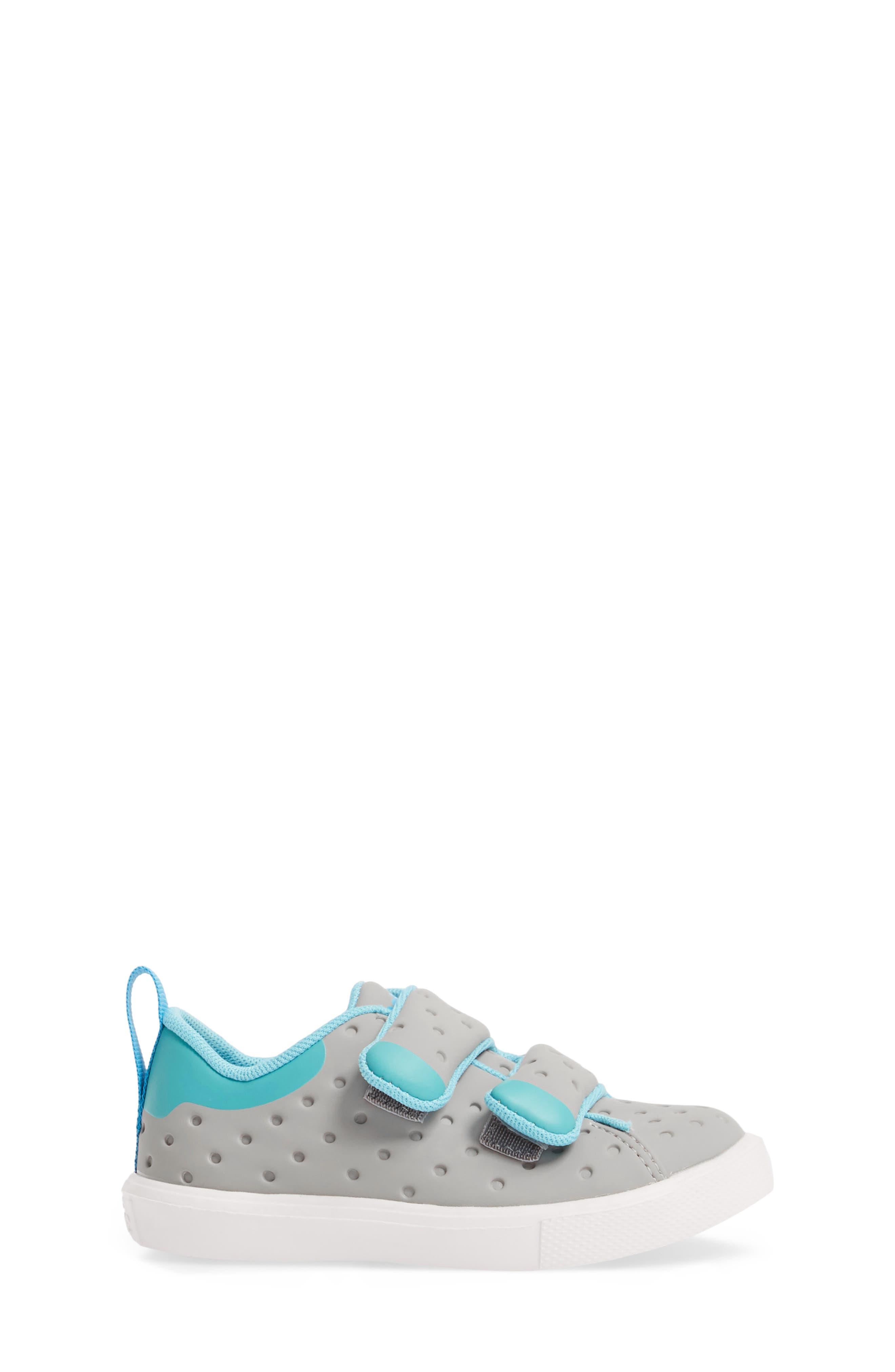 Monaco Sneaker,                             Alternate thumbnail 3, color,                             PIGEON GREY/ POOL BOOL/ WHITE