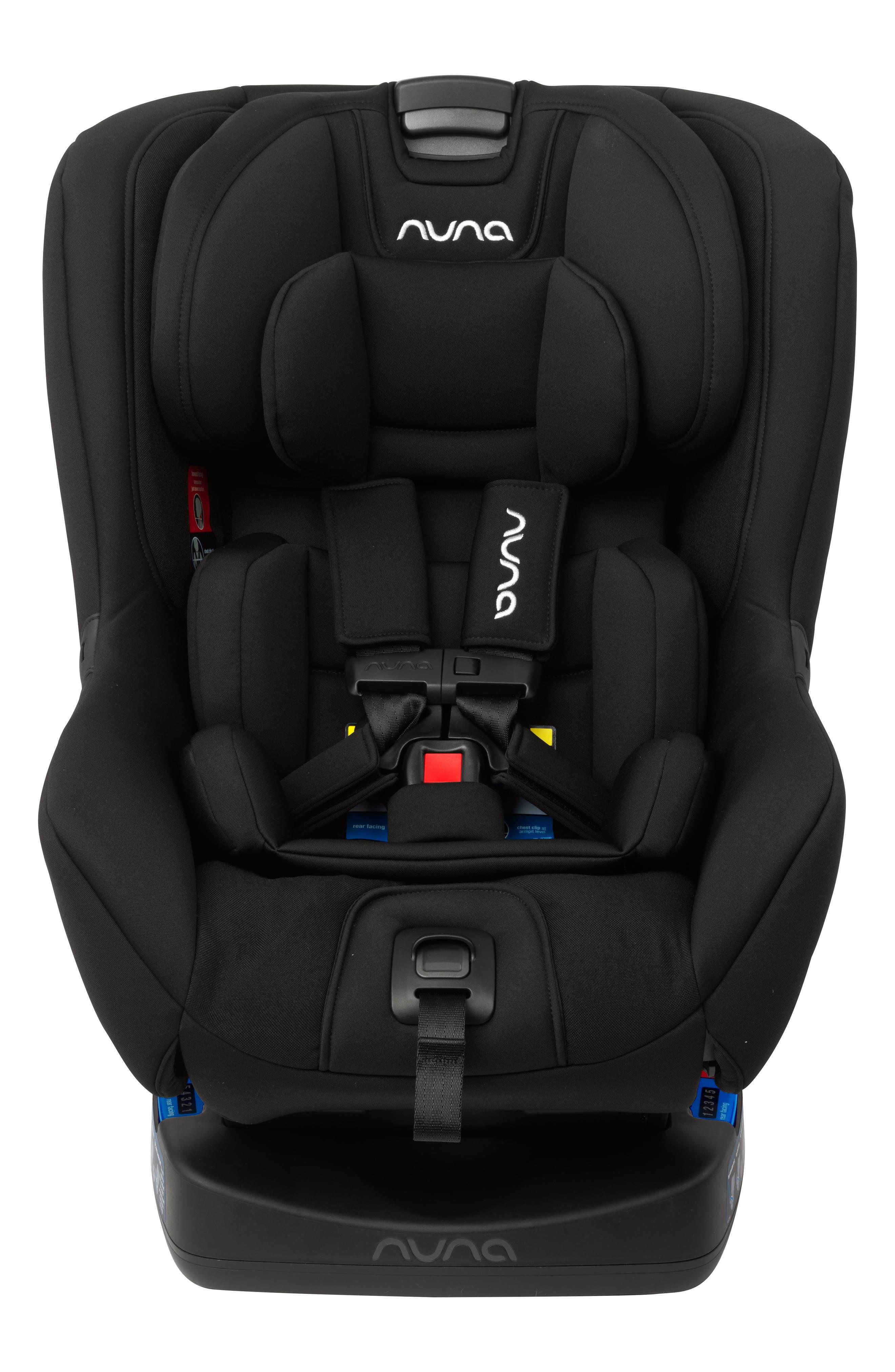 Infant Nuna Rava(TM) Flame Resistant Free Convertible Car Seat Size One Size  Black