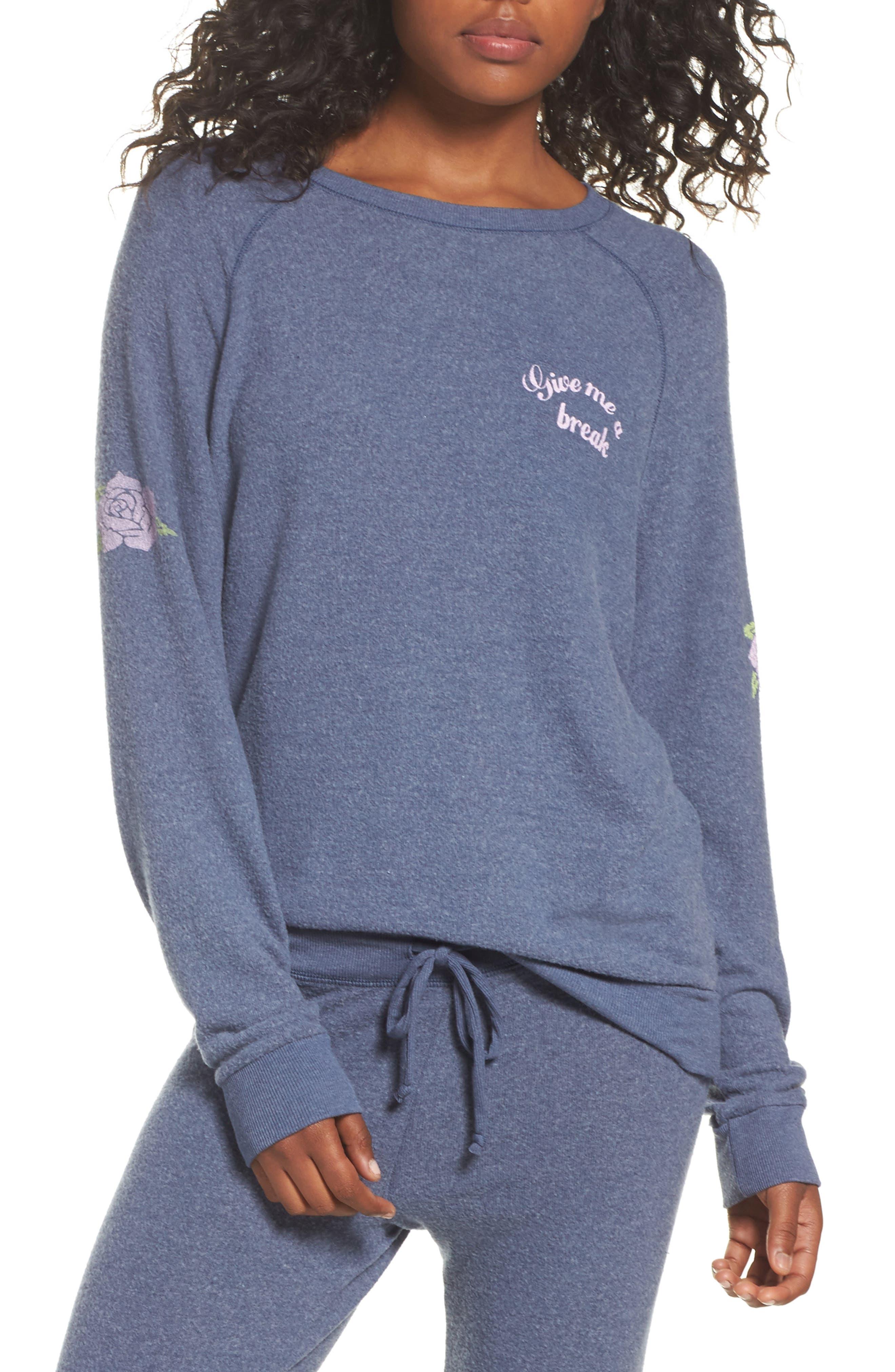 Give Me a Break Hacci Pullover,                         Main,                         color, 400