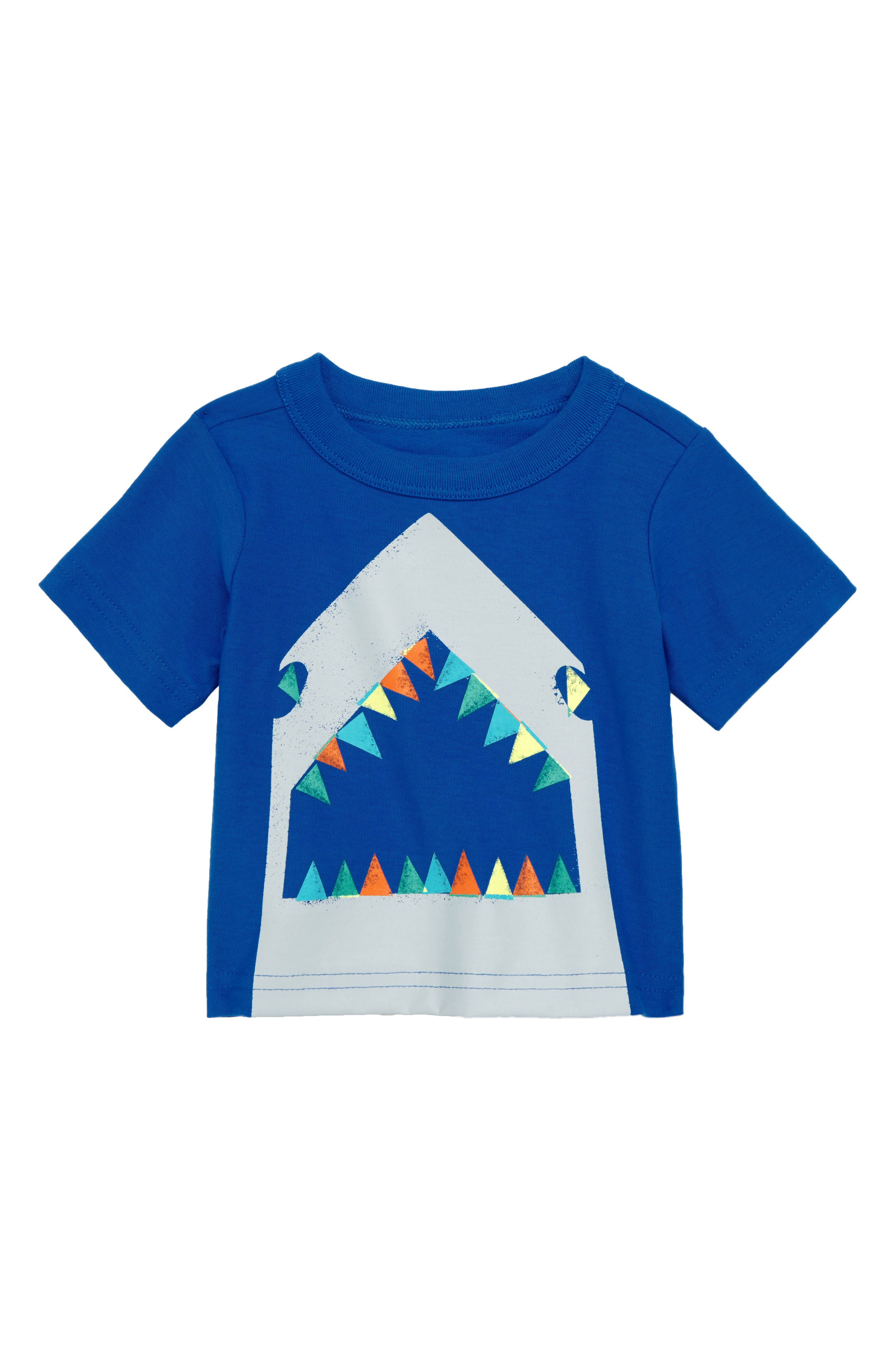 TEA COLLECTION,                             Great White Graphic T-Shirt,                             Main thumbnail 1, color,                             482